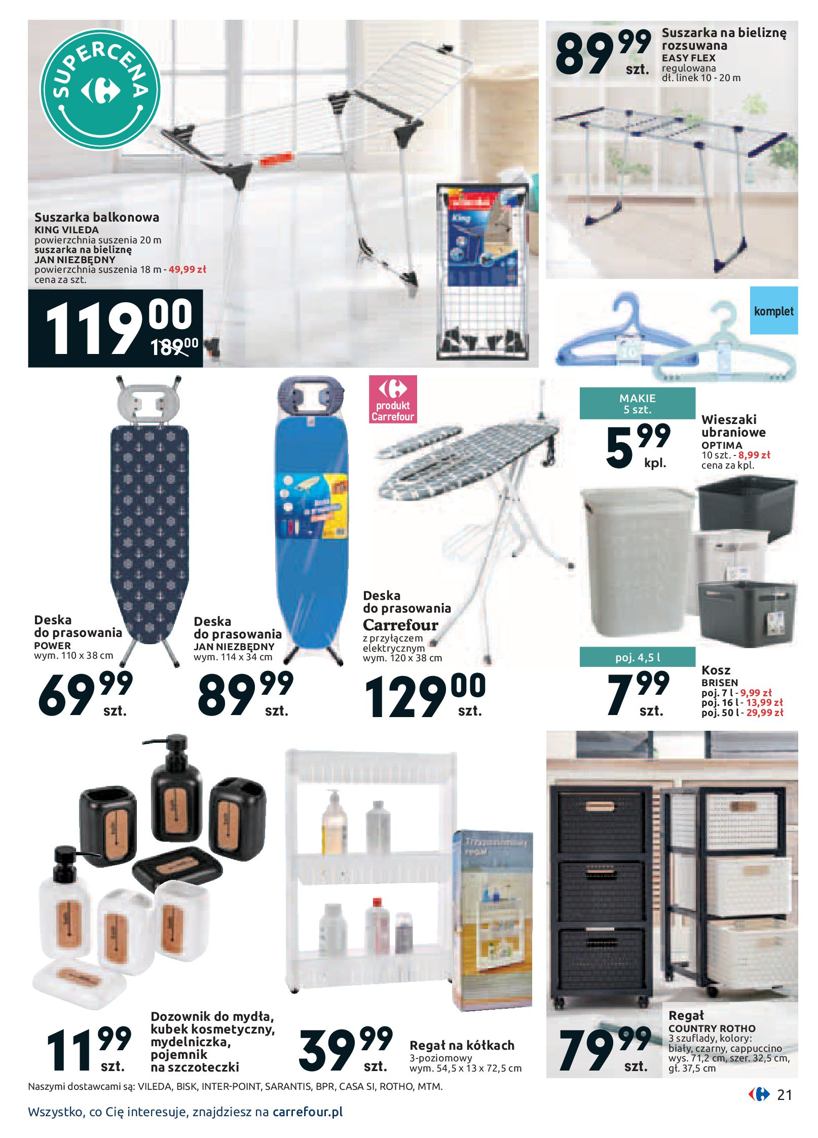 Gazetka Carrefour - Twój dom z pomysłem-13.01.2020-26.01.2020-page-21