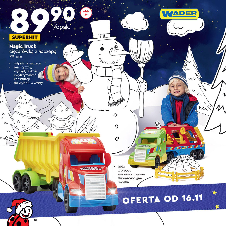 Gazetka Biedronka: Wielka Księga Zabawek 2020-11-09 page-48