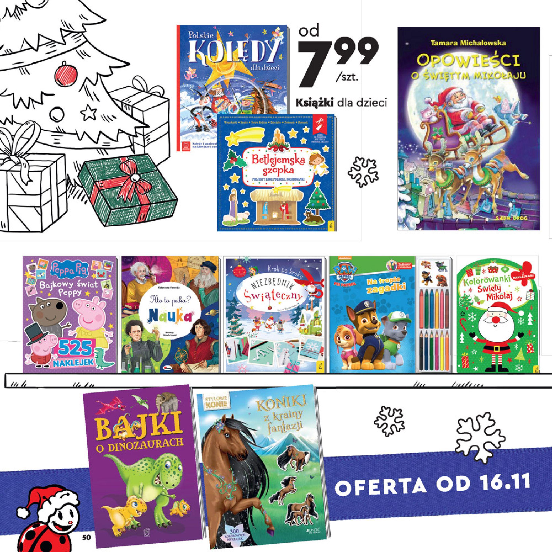 Gazetka Biedronka: Wielka Księga Zabawek 2020-11-09 page-50