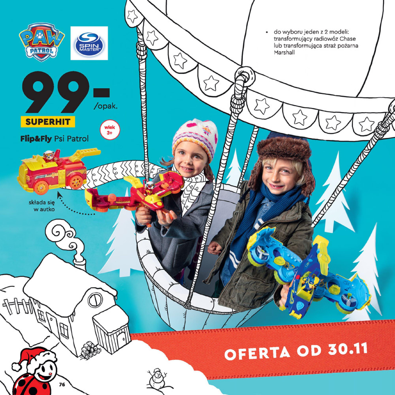 Gazetka Biedronka: Wielka Księga Zabawek 2020-11-09 page-76