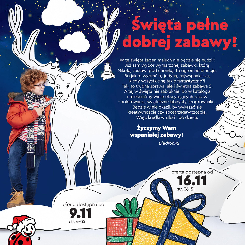 Gazetka Biedronka: Wielka Księga Zabawek 2020-11-09 page-2