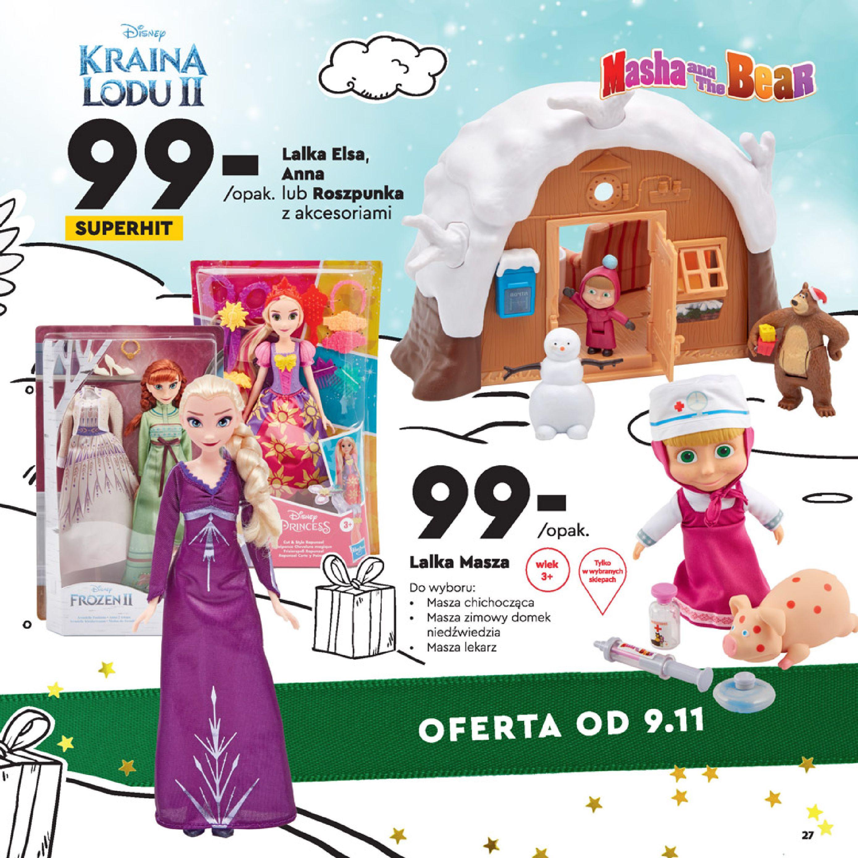 Gazetka Biedronka: Wielka Księga Zabawek 2020-11-09 page-27
