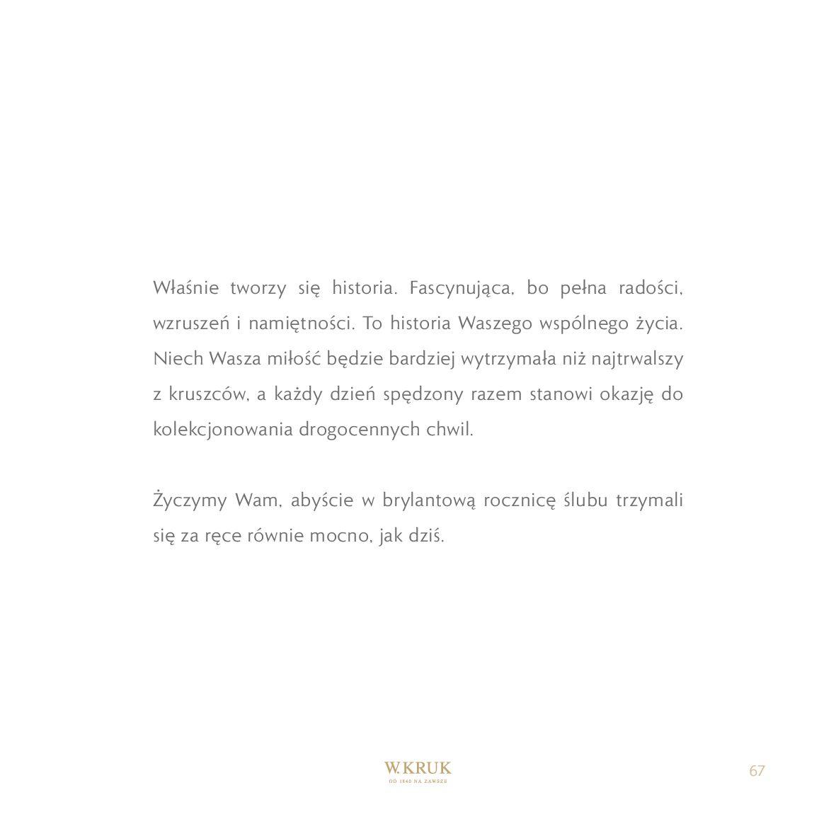 Gazetka W. KRUK: Katalog - Obrączki 2021-02-17 page-69