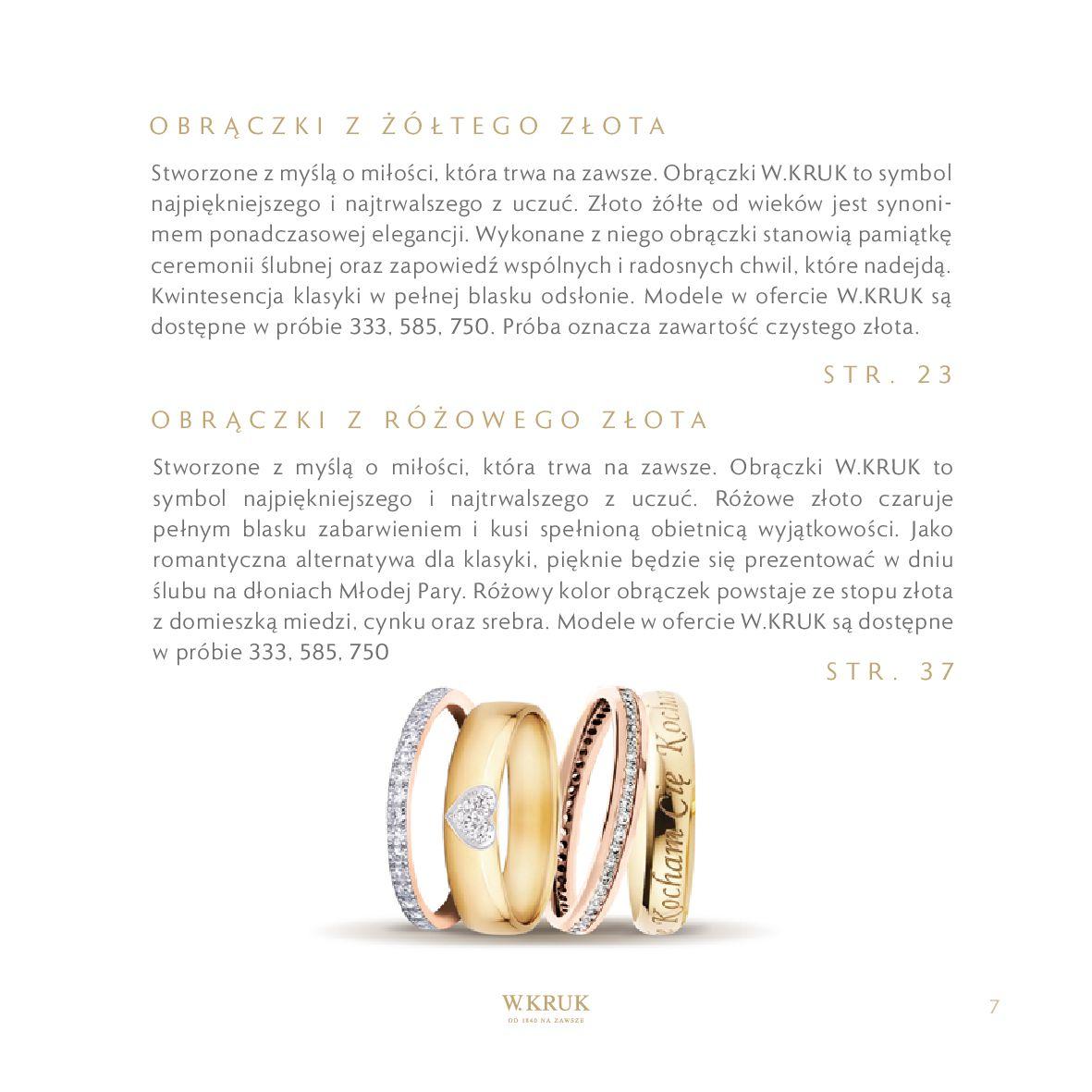 Gazetka W. KRUK: Katalog - Obrączki 2021-02-17 page-9