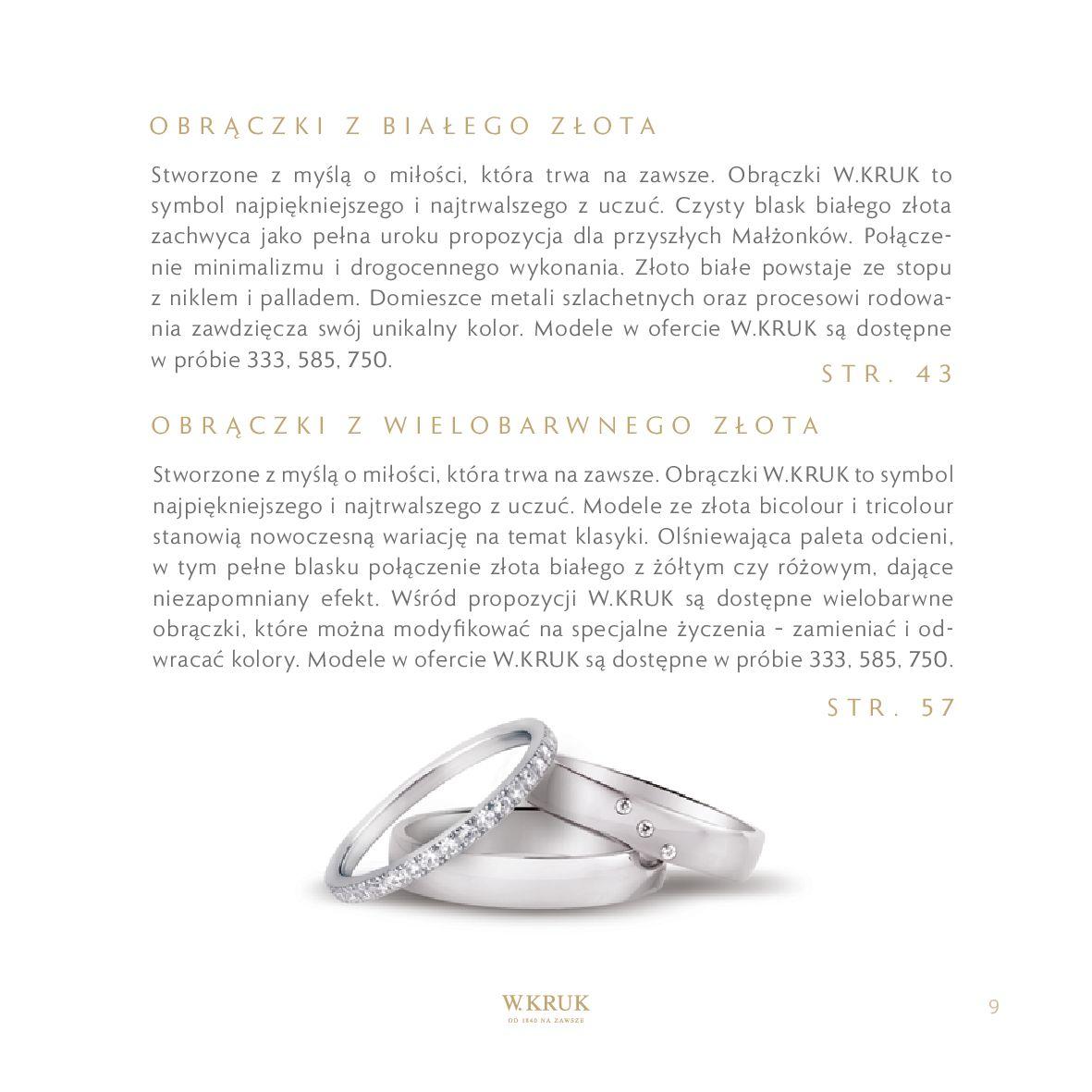 Gazetka W. KRUK: Katalog - Obrączki 2021-02-17 page-11