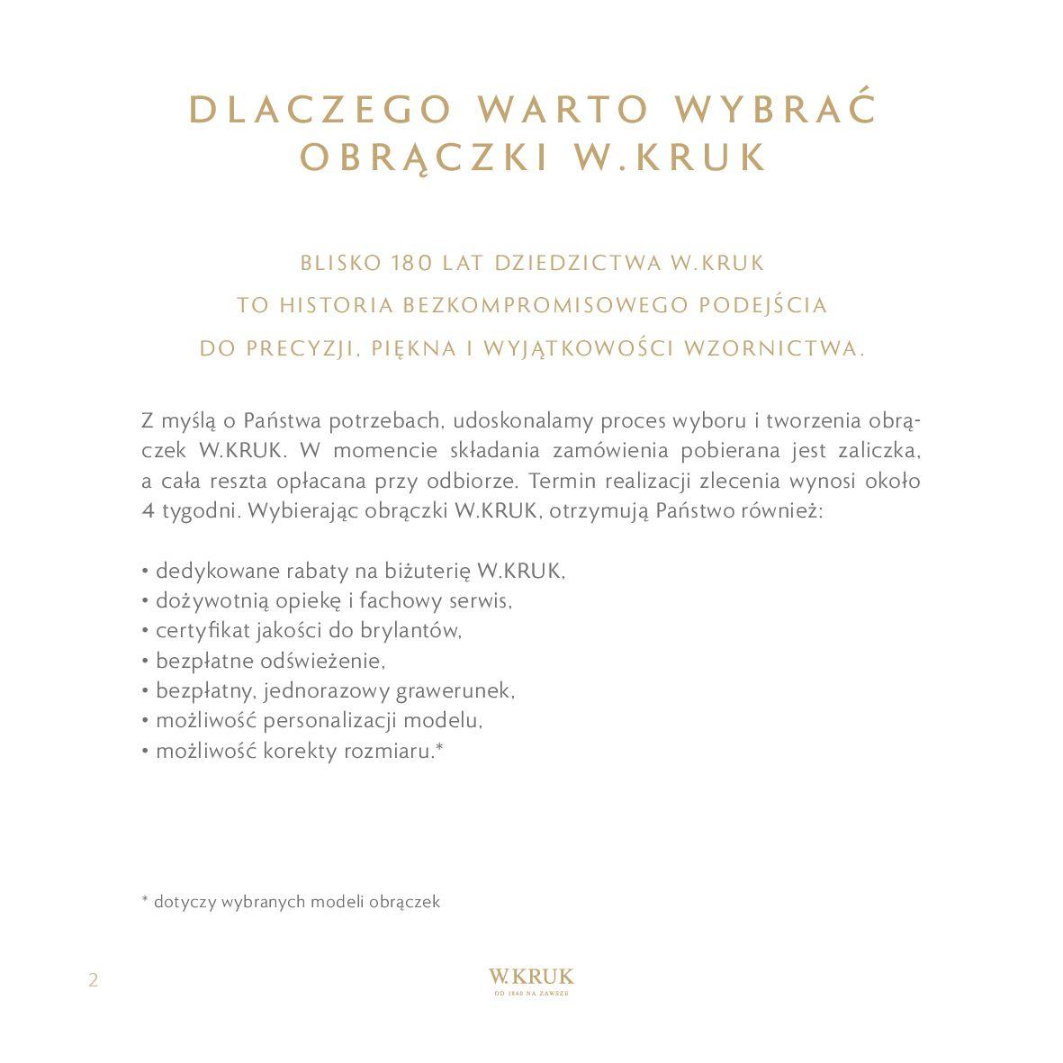 Gazetka W. KRUK: Katalog - Obrączki 2021-02-17 page-4