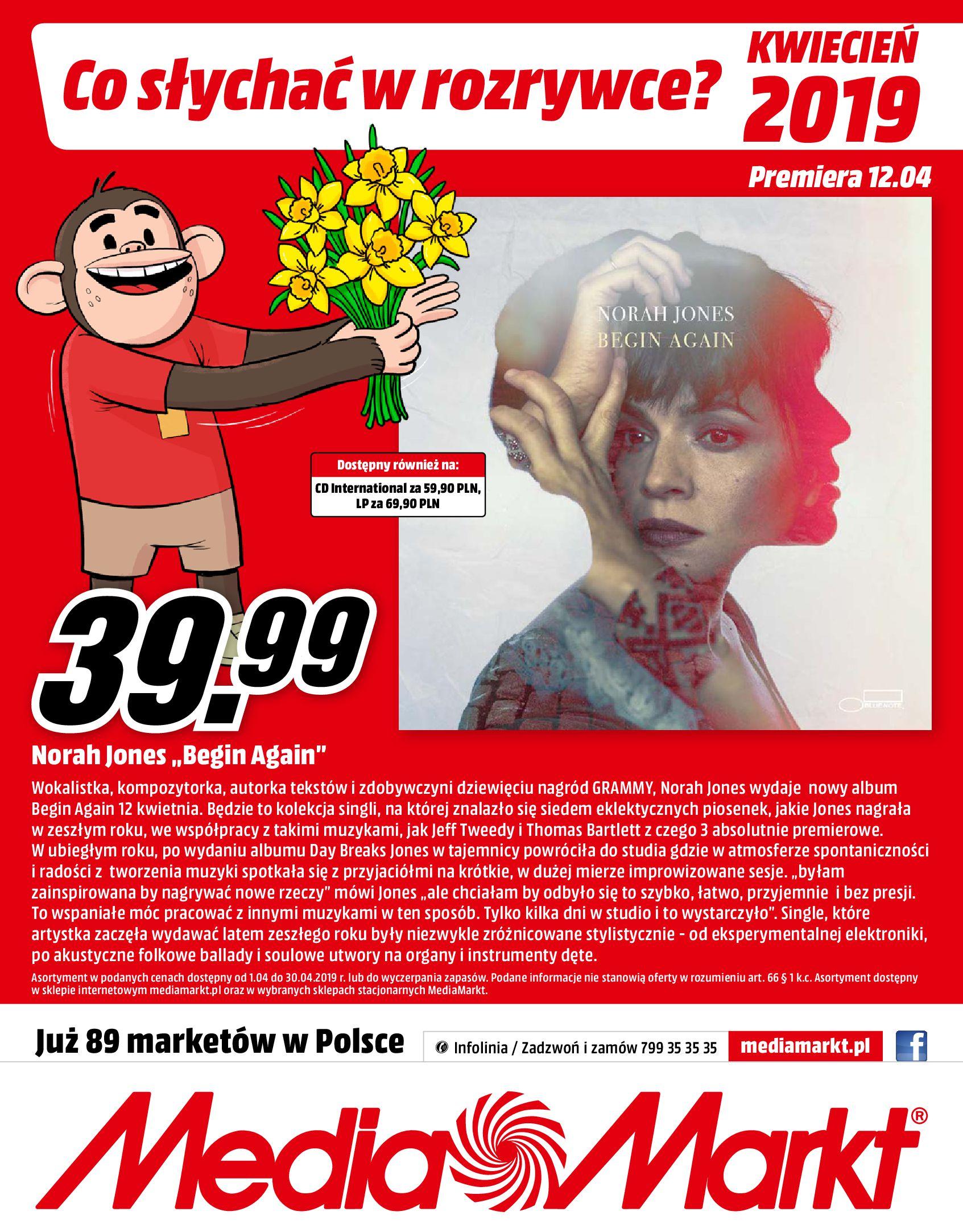 Gazetka Media Markt - Co słychać w rozrywce ?-03.04.2019-30.04.2019-page-