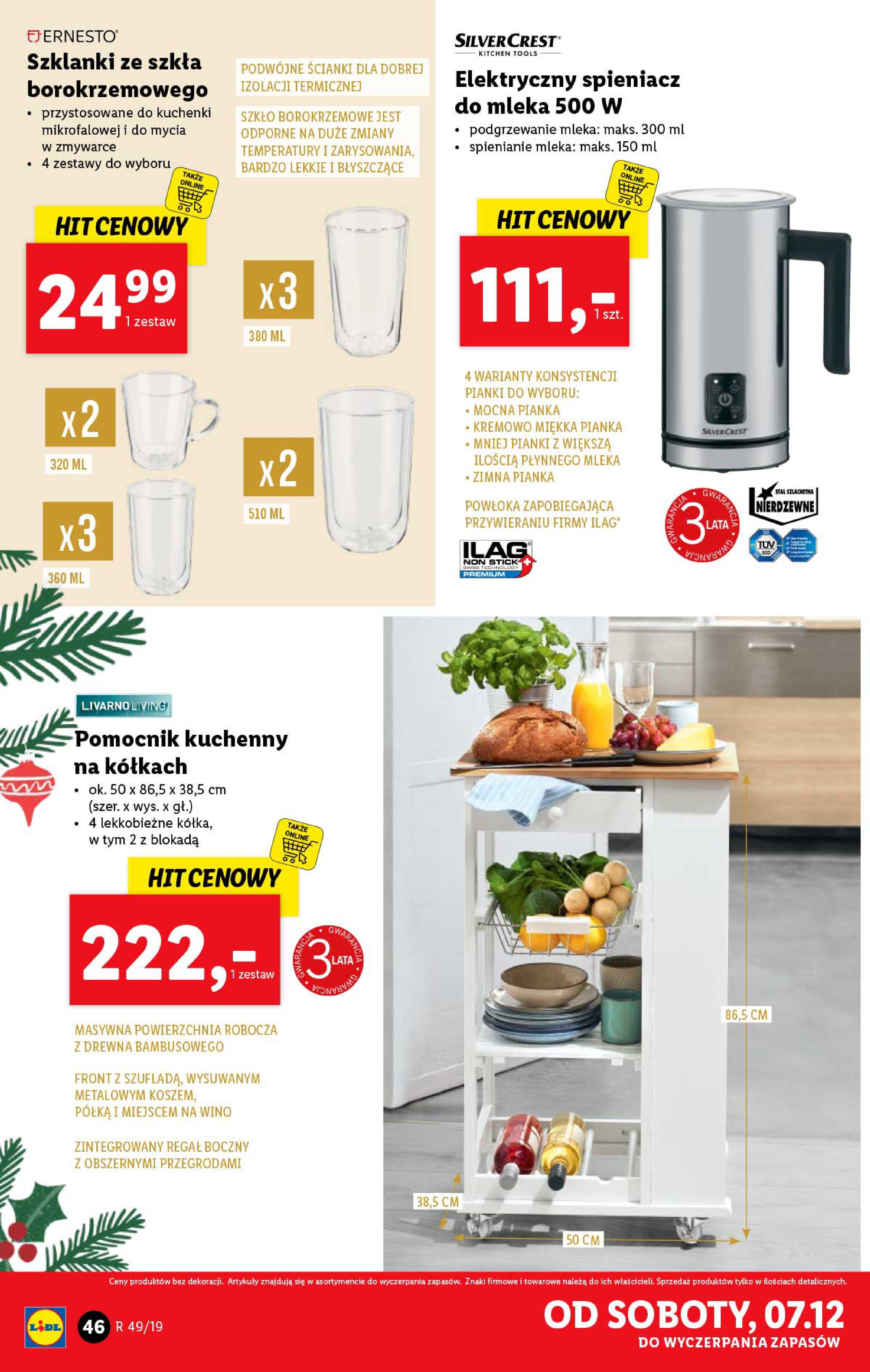 Gazetka Lidl - Katalog od poniedziałku 02.12-01.12.2019-07.12.2019-page-46