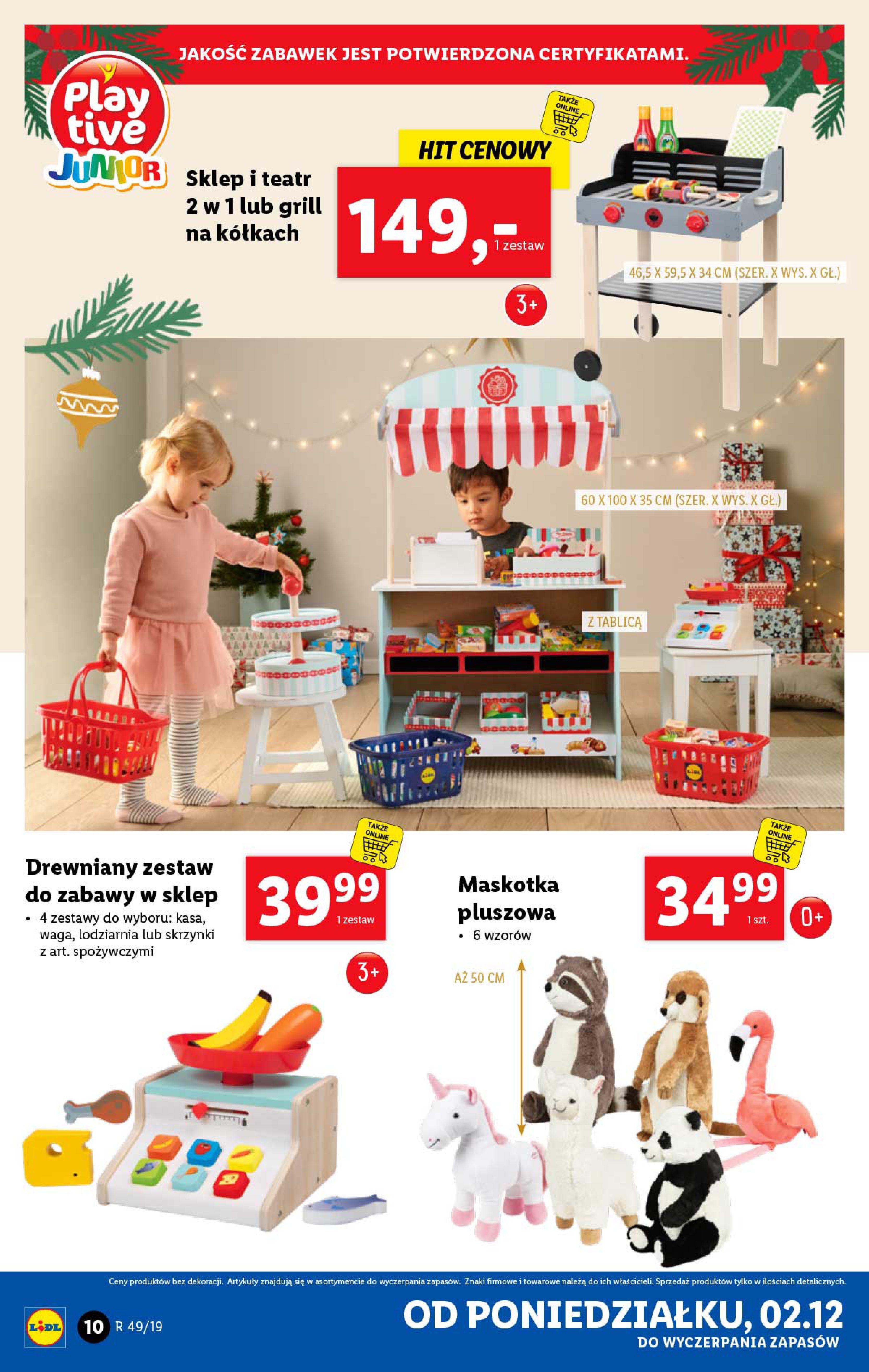 Gazetka Lidl - Katalog od poniedziałku 02.12-01.12.2019-07.12.2019-page-10