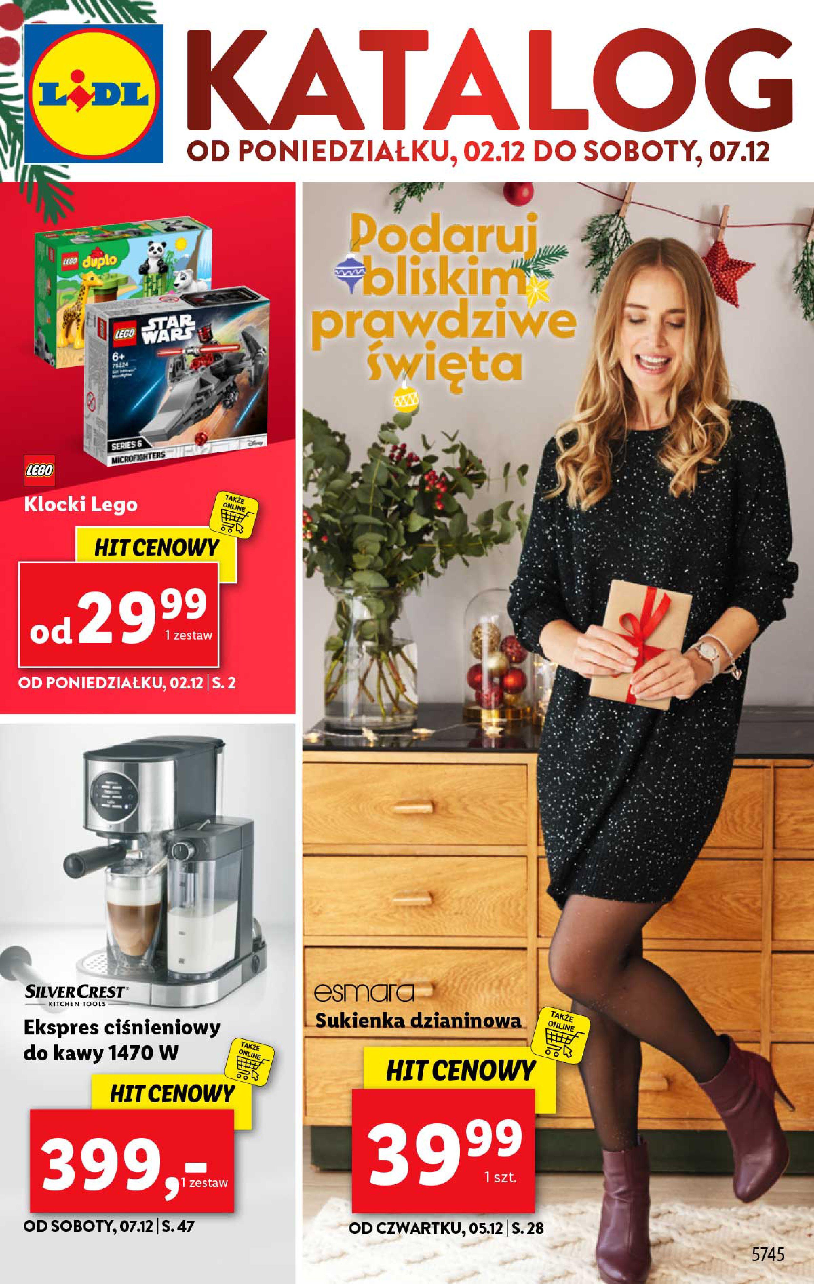 Gazetka Lidl - Katalog od poniedziałku 02.12-01.12.2019-07.12.2019-page-1