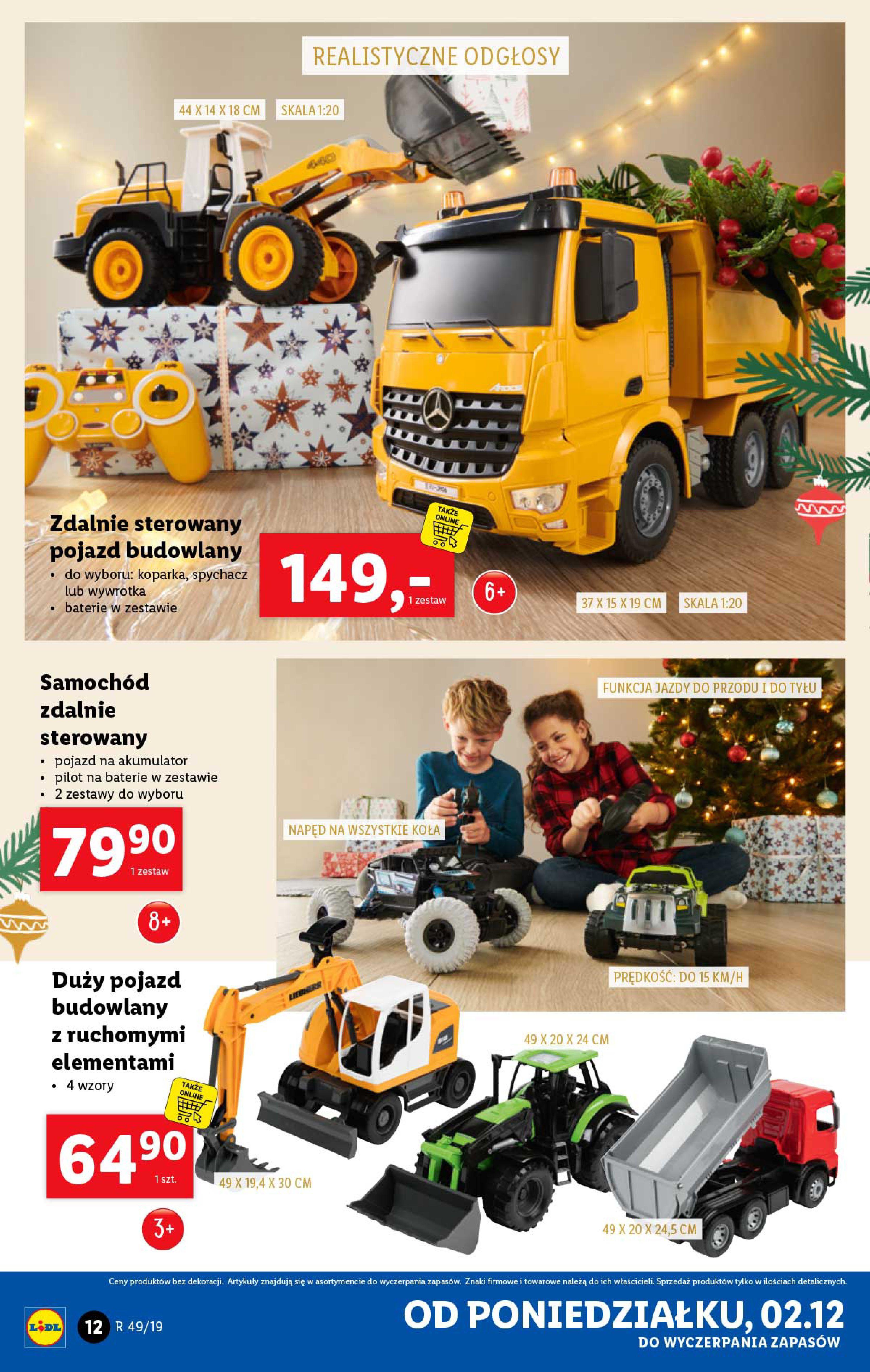 Gazetka Lidl - Katalog od poniedziałku 02.12-01.12.2019-07.12.2019-page-12