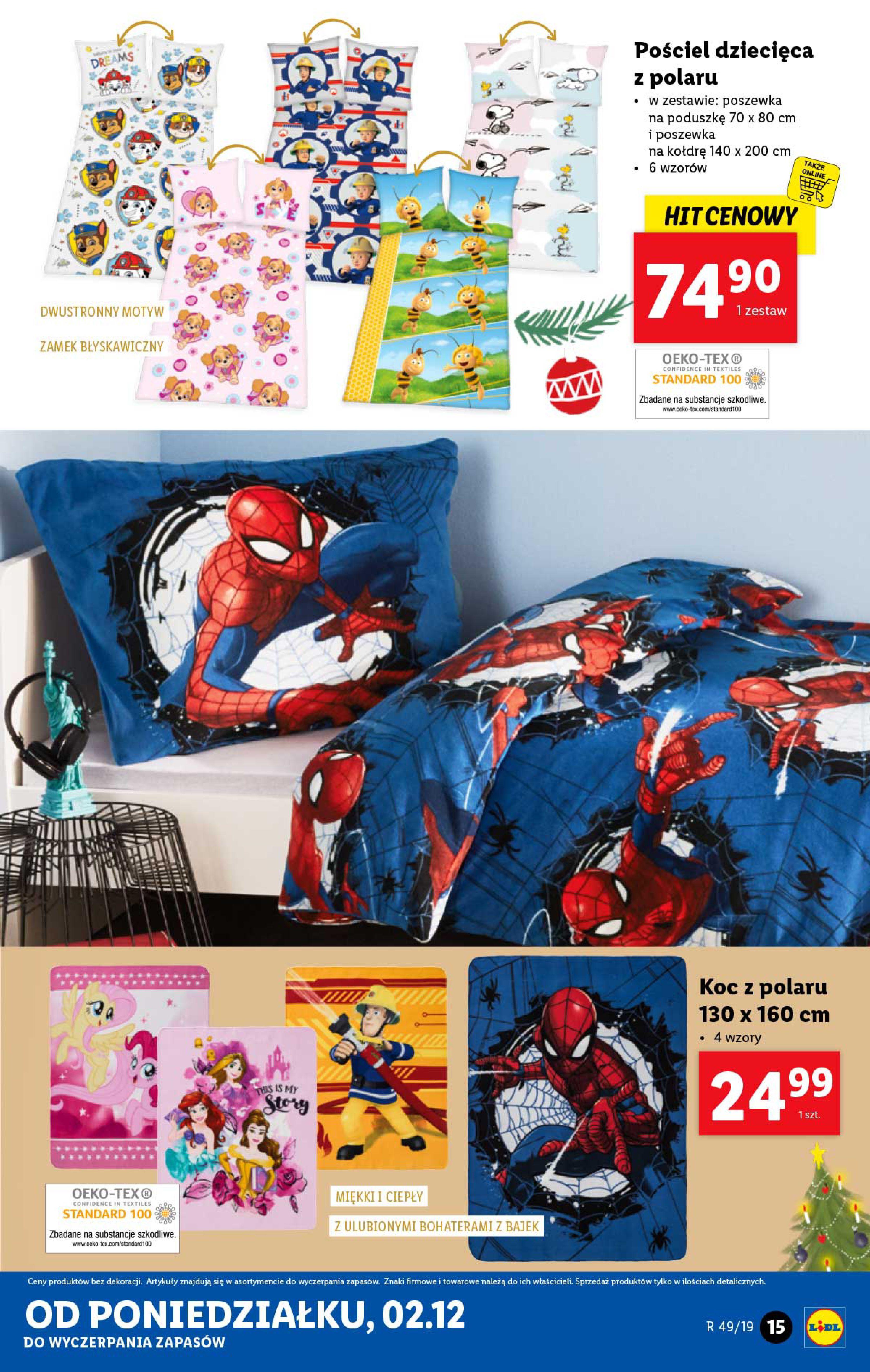 Gazetka Lidl - Katalog od poniedziałku 02.12-01.12.2019-07.12.2019-page-15