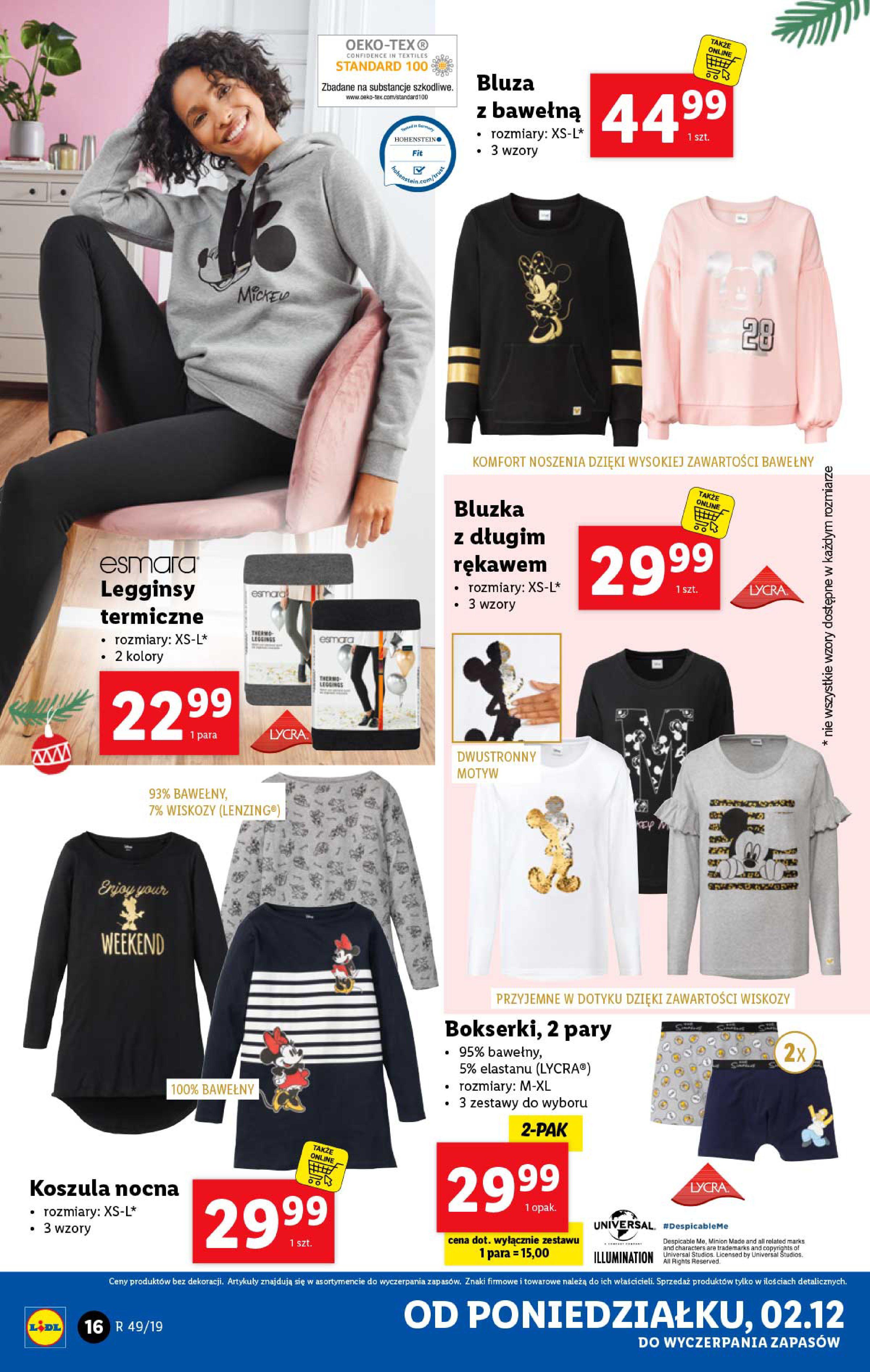 Gazetka Lidl - Katalog od poniedziałku 02.12-01.12.2019-07.12.2019-page-16