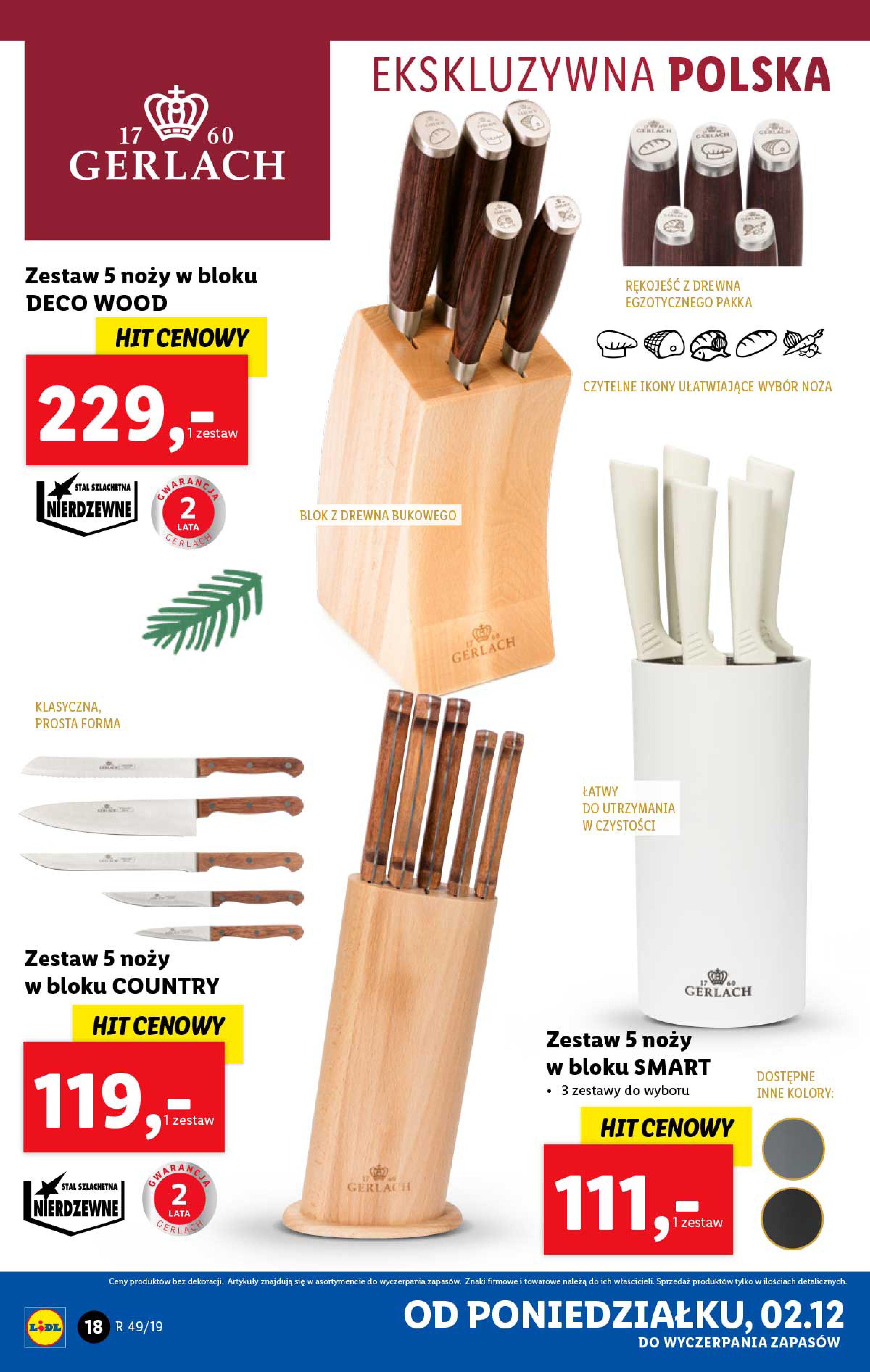 Gazetka Lidl - Katalog od poniedziałku 02.12-01.12.2019-07.12.2019-page-18