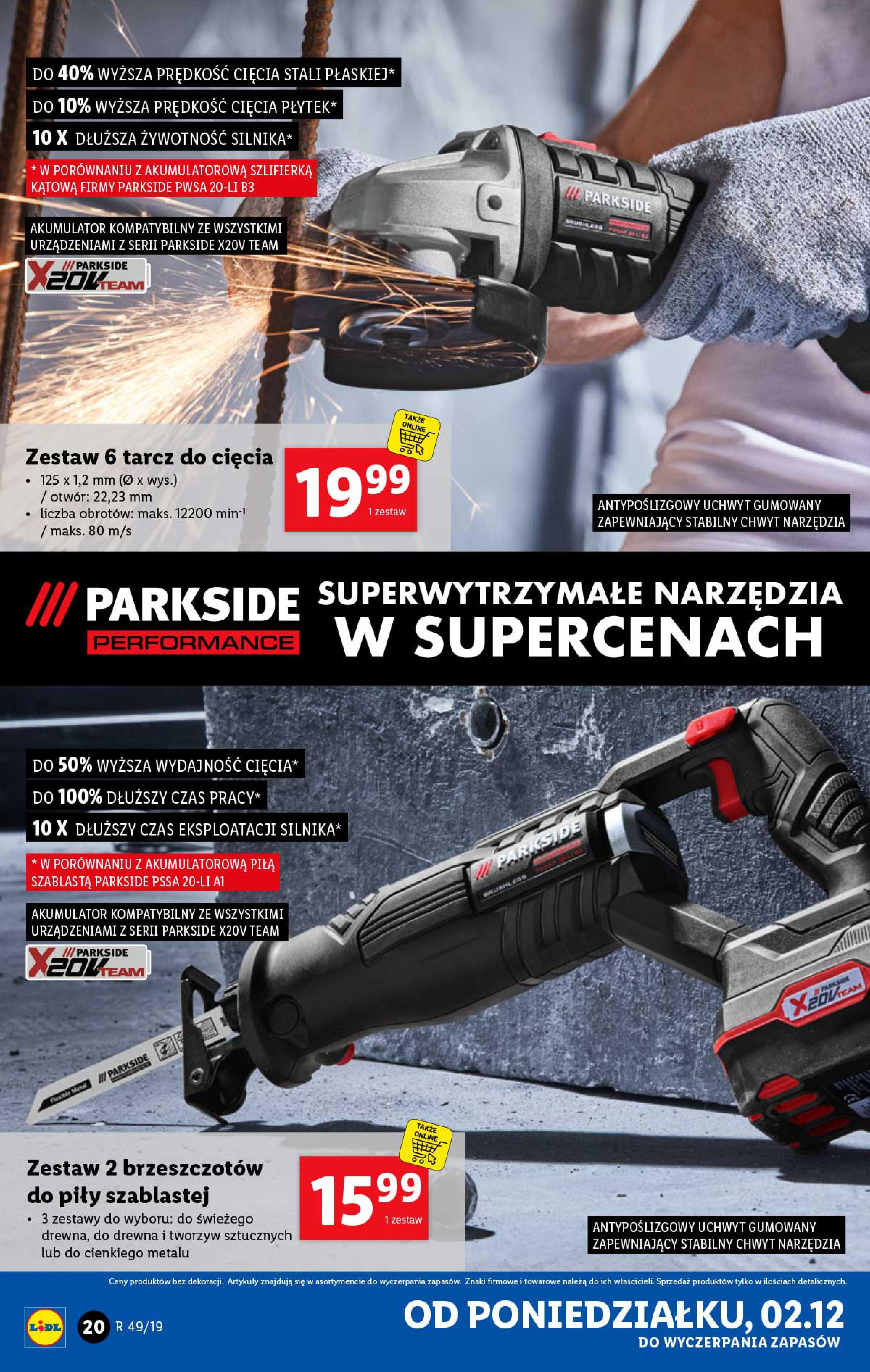 Gazetka Lidl - Katalog od poniedziałku 02.12-01.12.2019-07.12.2019-page-20