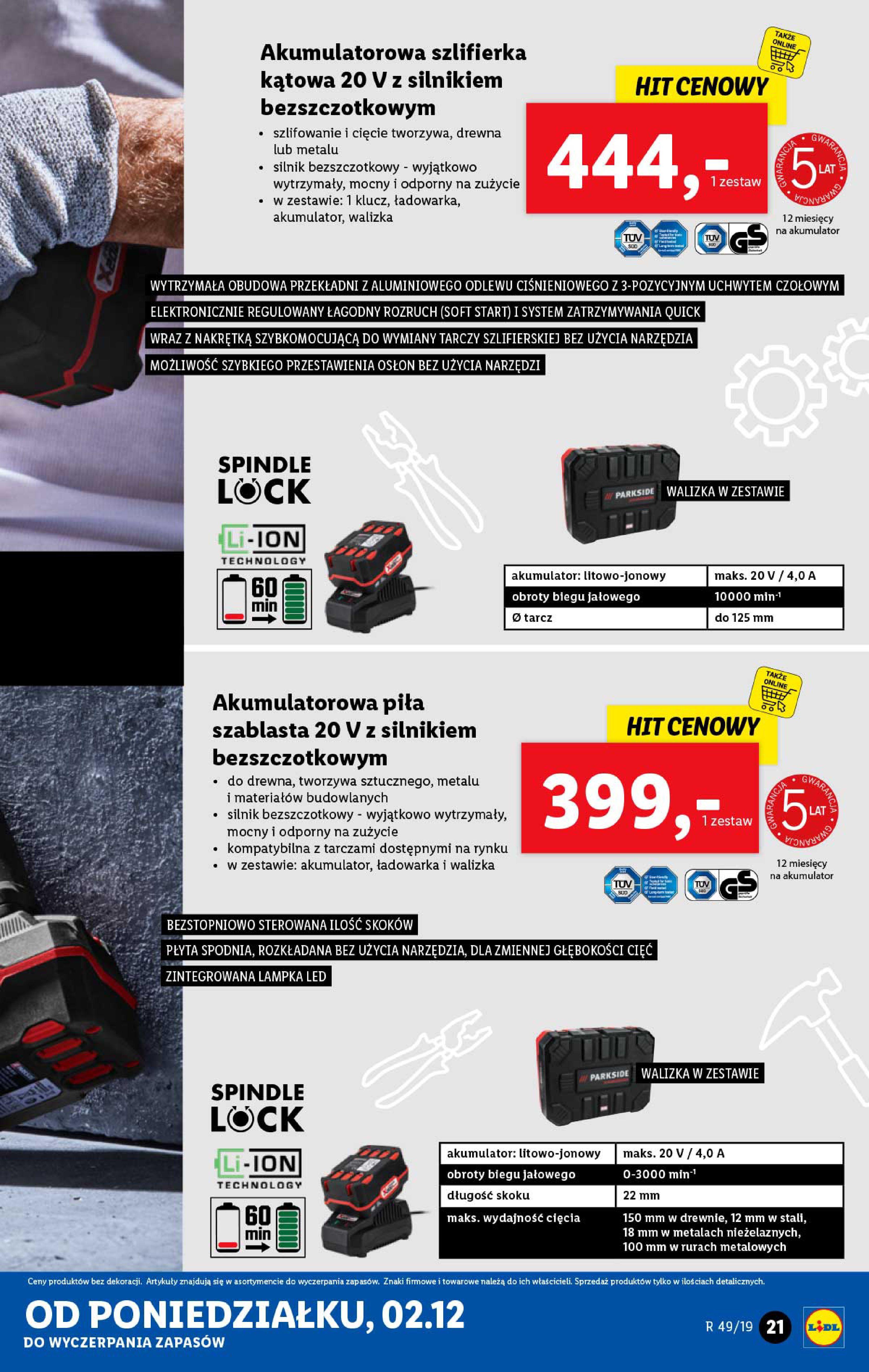 Gazetka Lidl - Katalog od poniedziałku 02.12-01.12.2019-07.12.2019-page-21
