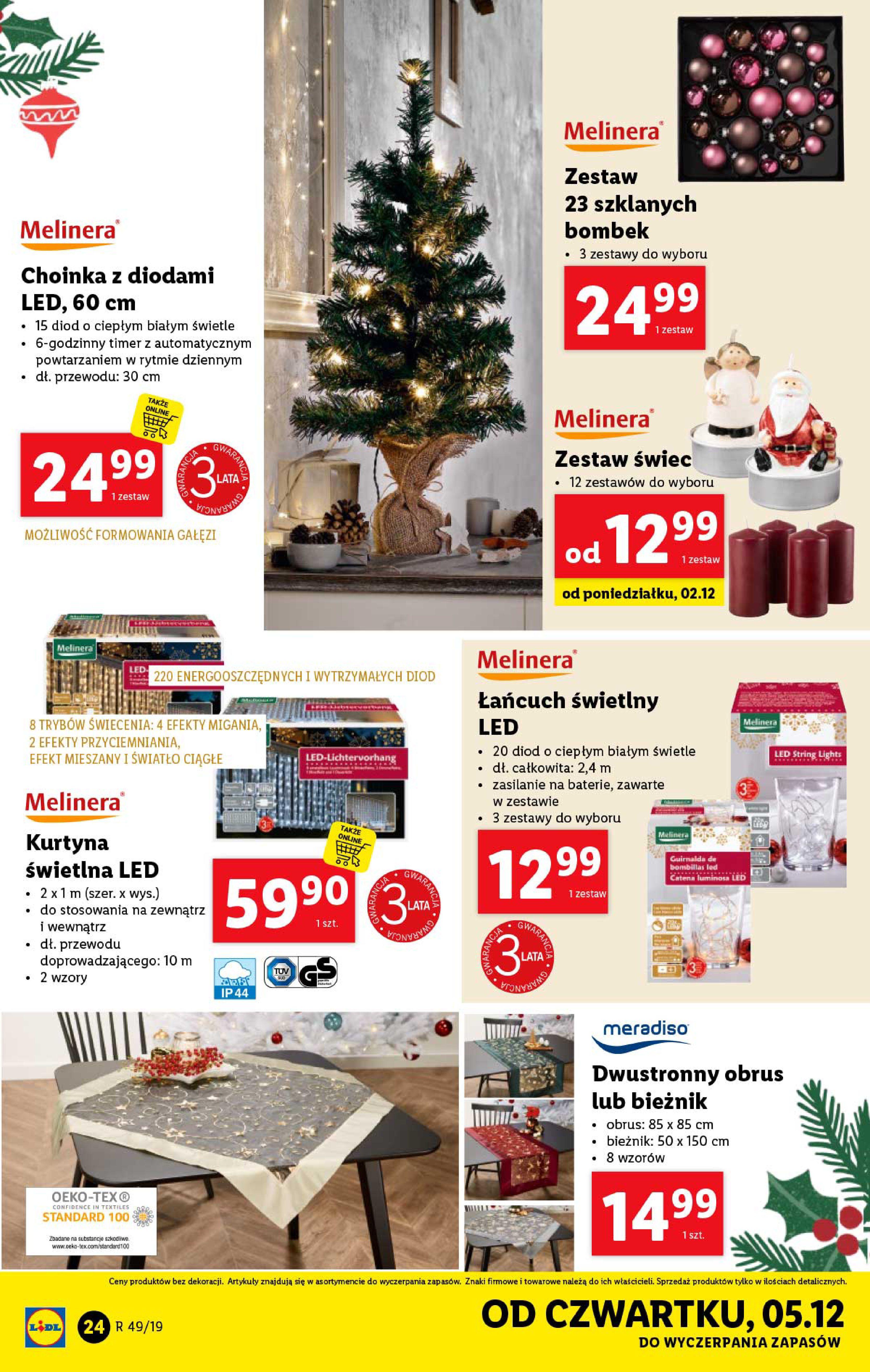 Gazetka Lidl - Katalog od poniedziałku 02.12-01.12.2019-07.12.2019-page-24