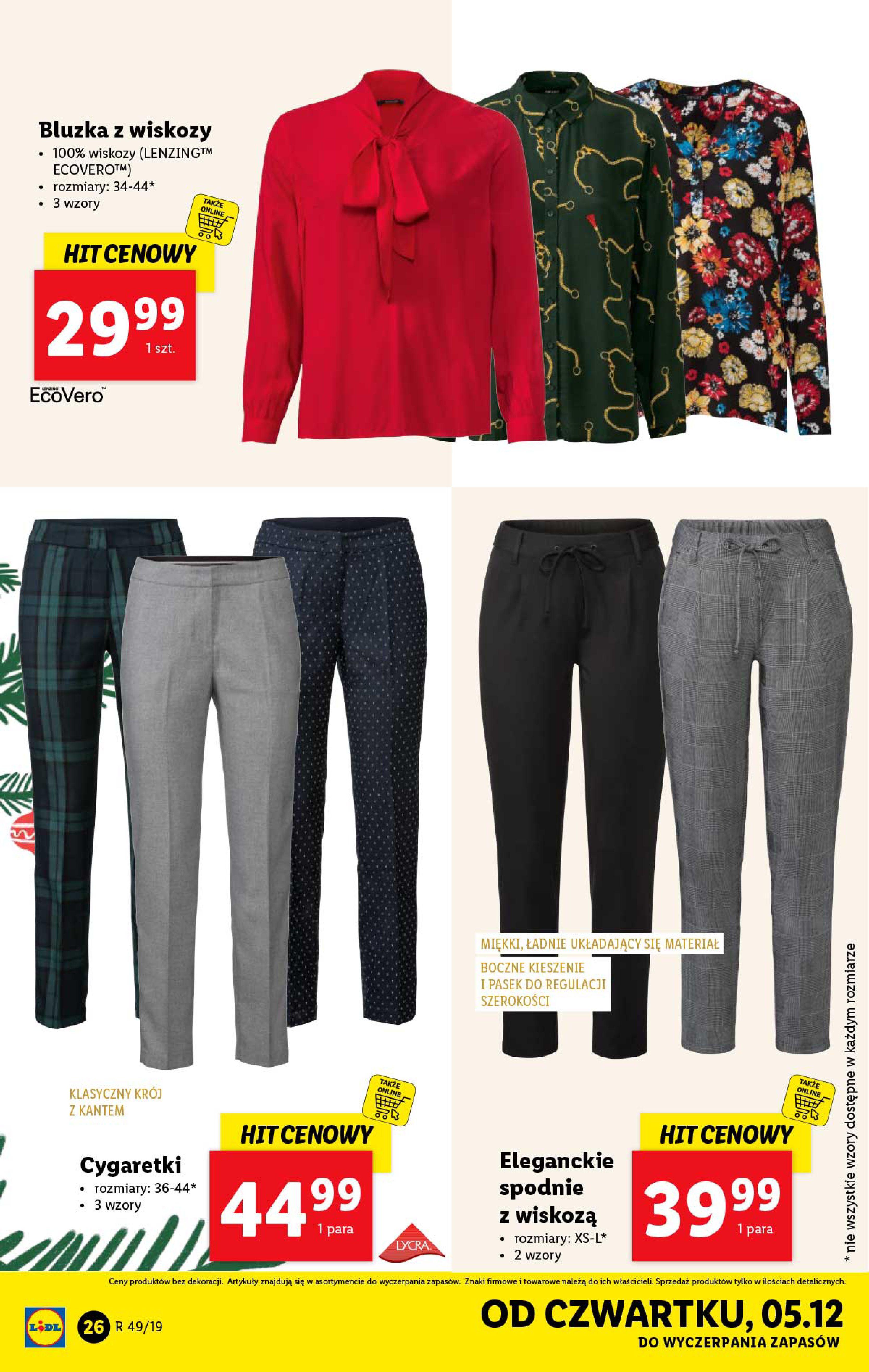 Gazetka Lidl - Katalog od poniedziałku 02.12-01.12.2019-07.12.2019-page-26