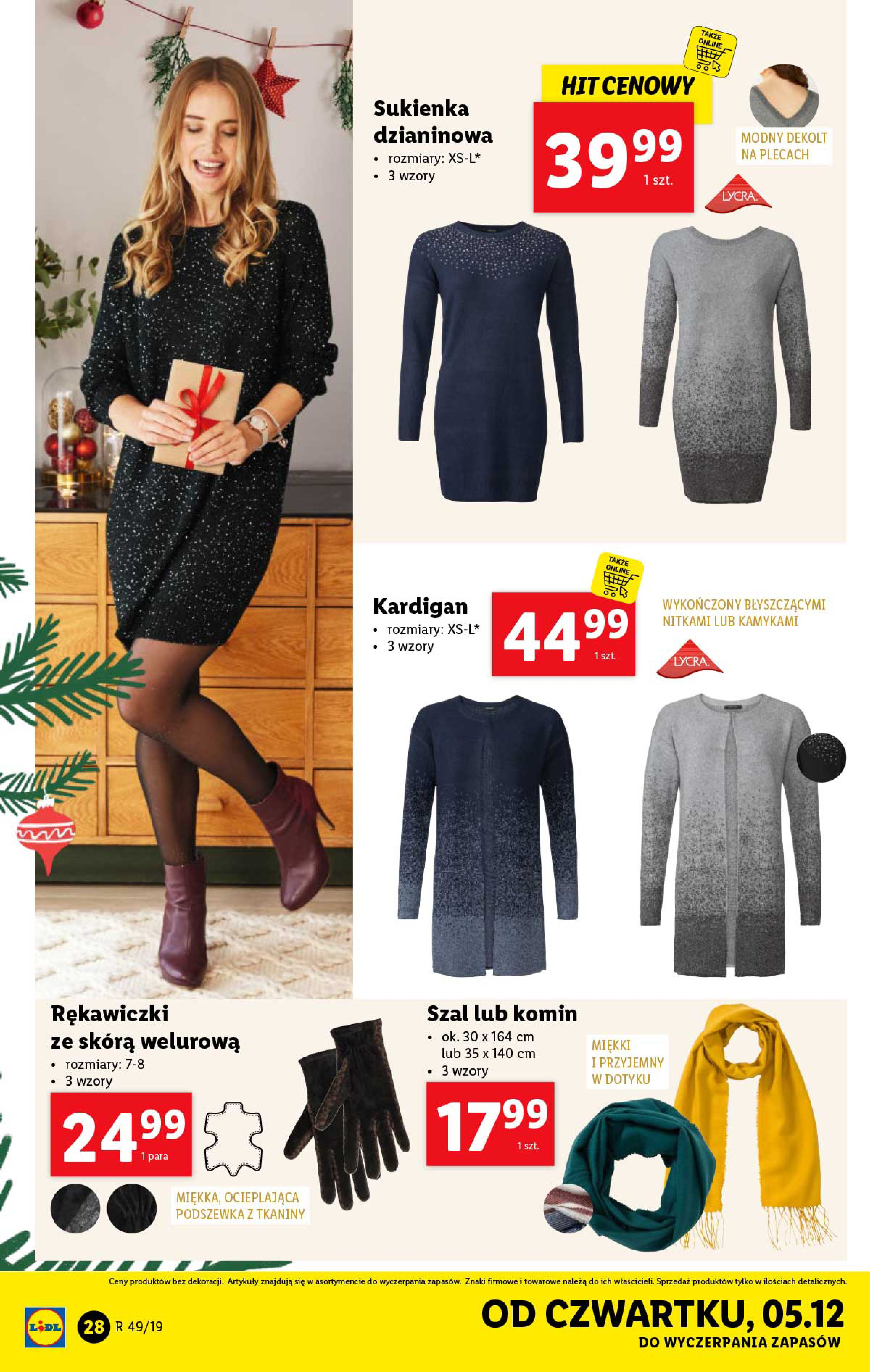 Gazetka Lidl - Katalog od poniedziałku 02.12-01.12.2019-07.12.2019-page-28