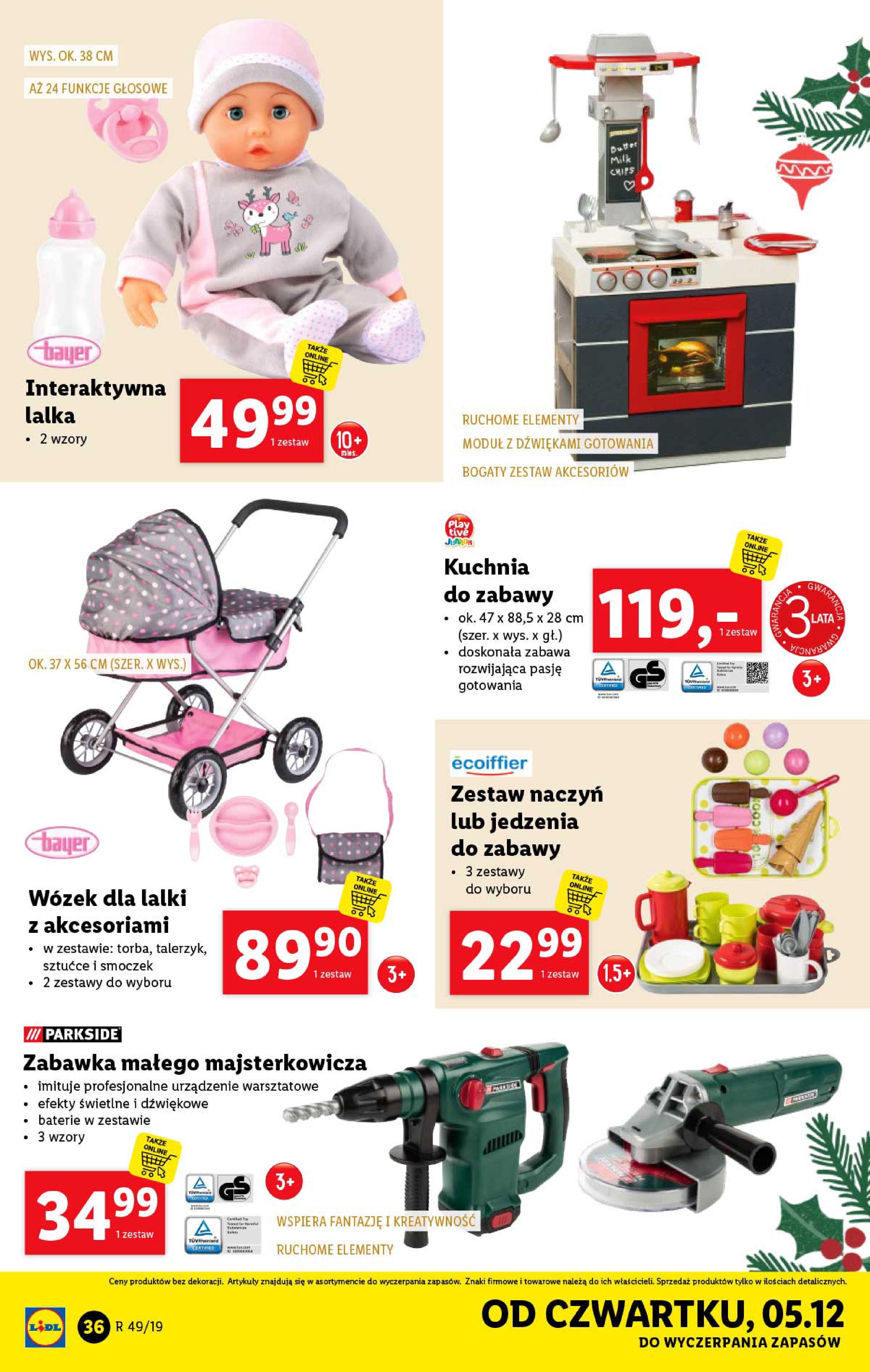 Gazetka Lidl - Katalog od poniedziałku 02.12-01.12.2019-07.12.2019-page-36