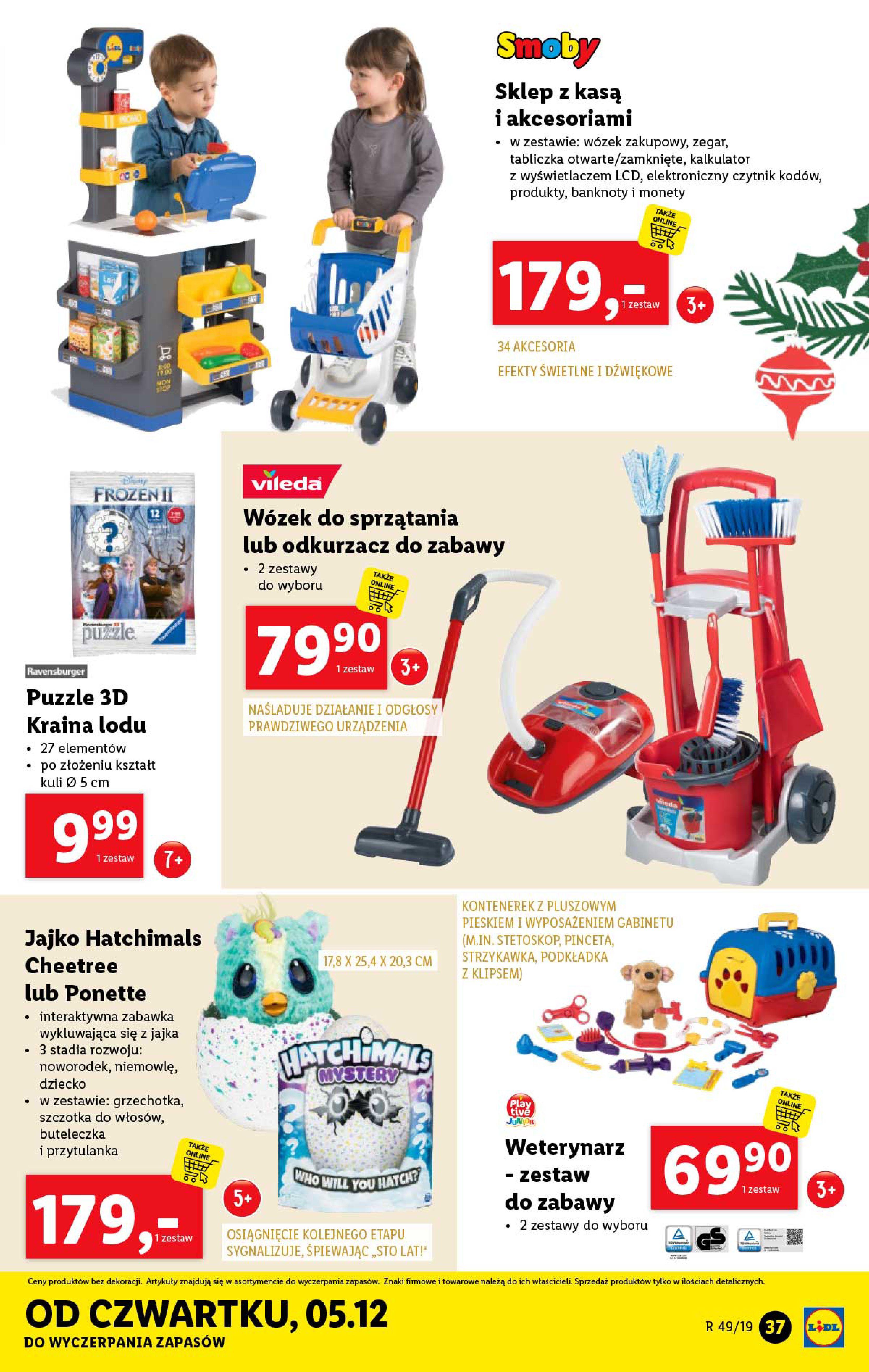 Gazetka Lidl - Katalog od poniedziałku 02.12-01.12.2019-07.12.2019-page-37