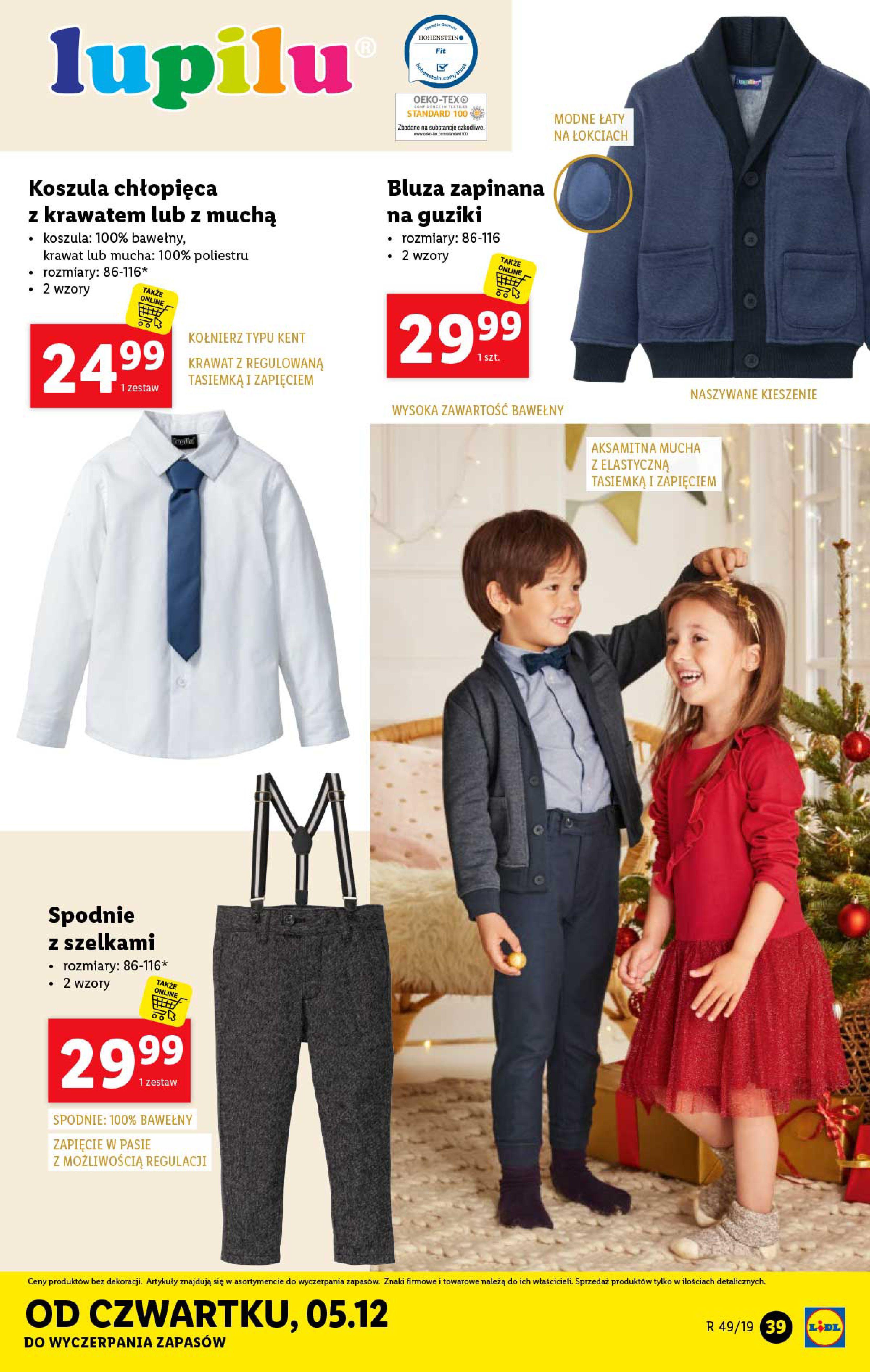 Gazetka Lidl - Katalog od poniedziałku 02.12-01.12.2019-07.12.2019-page-39