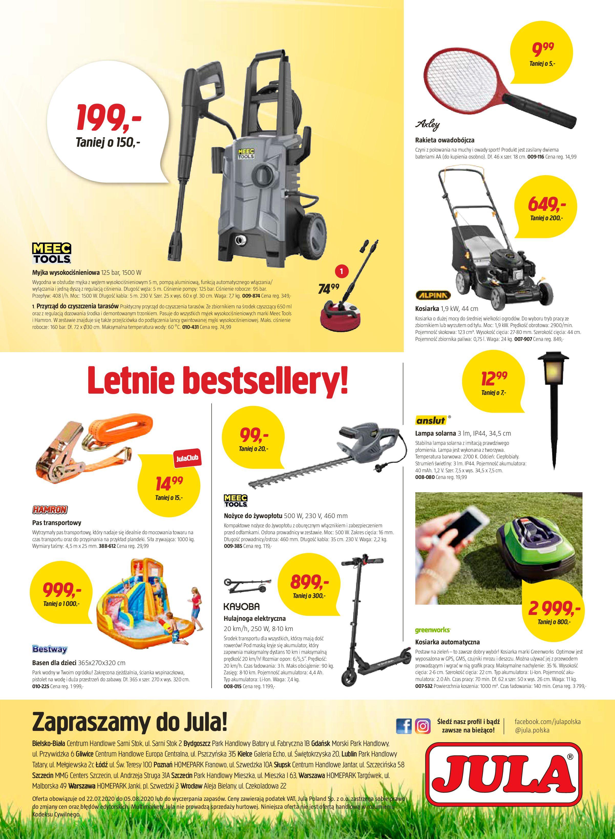 Gazetka Jula - Oferta handlowa-21.07.2020-05.08.2020-page-8
