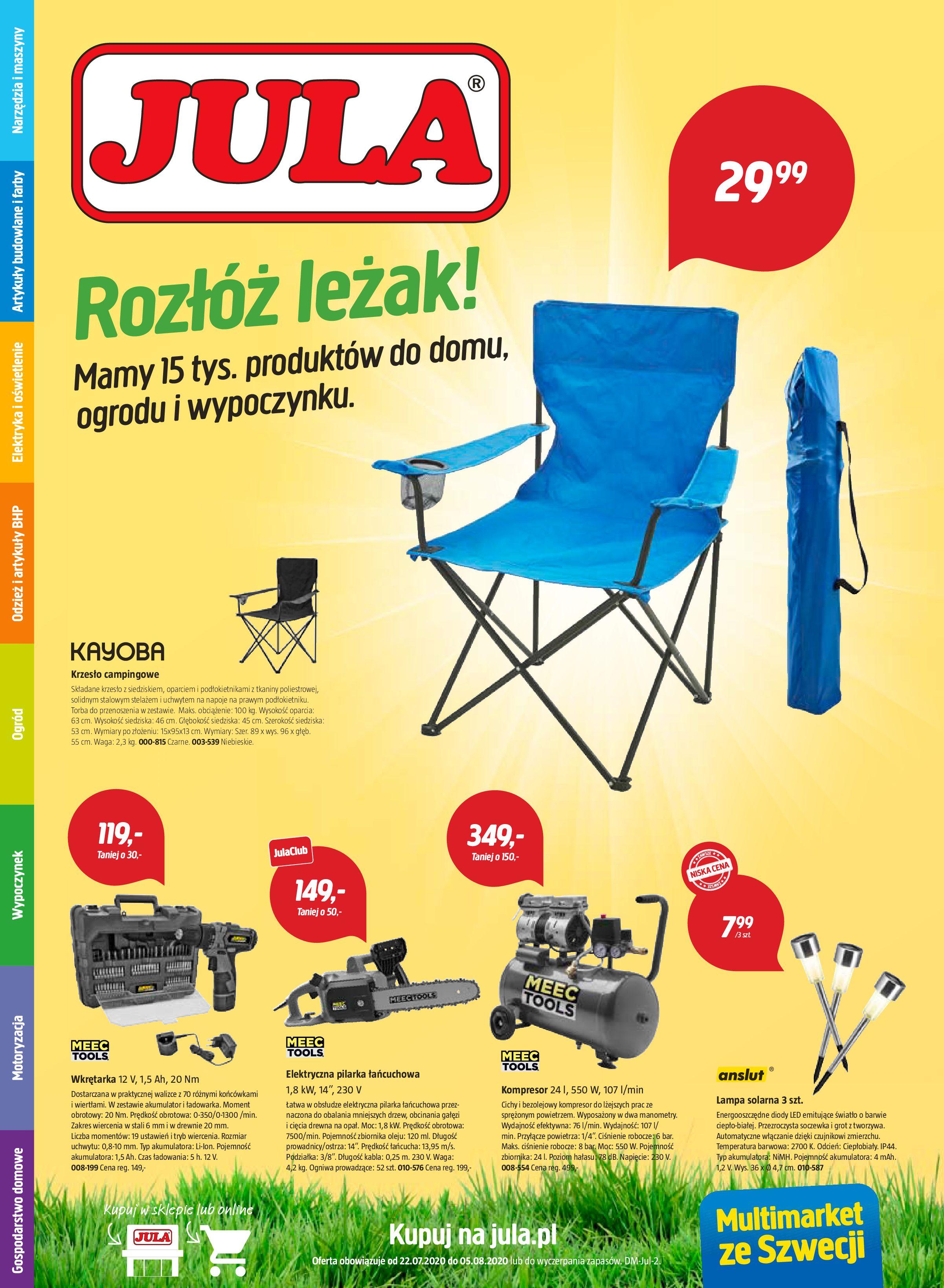 Gazetka Jula - Oferta handlowa-21.07.2020-05.08.2020-page-1