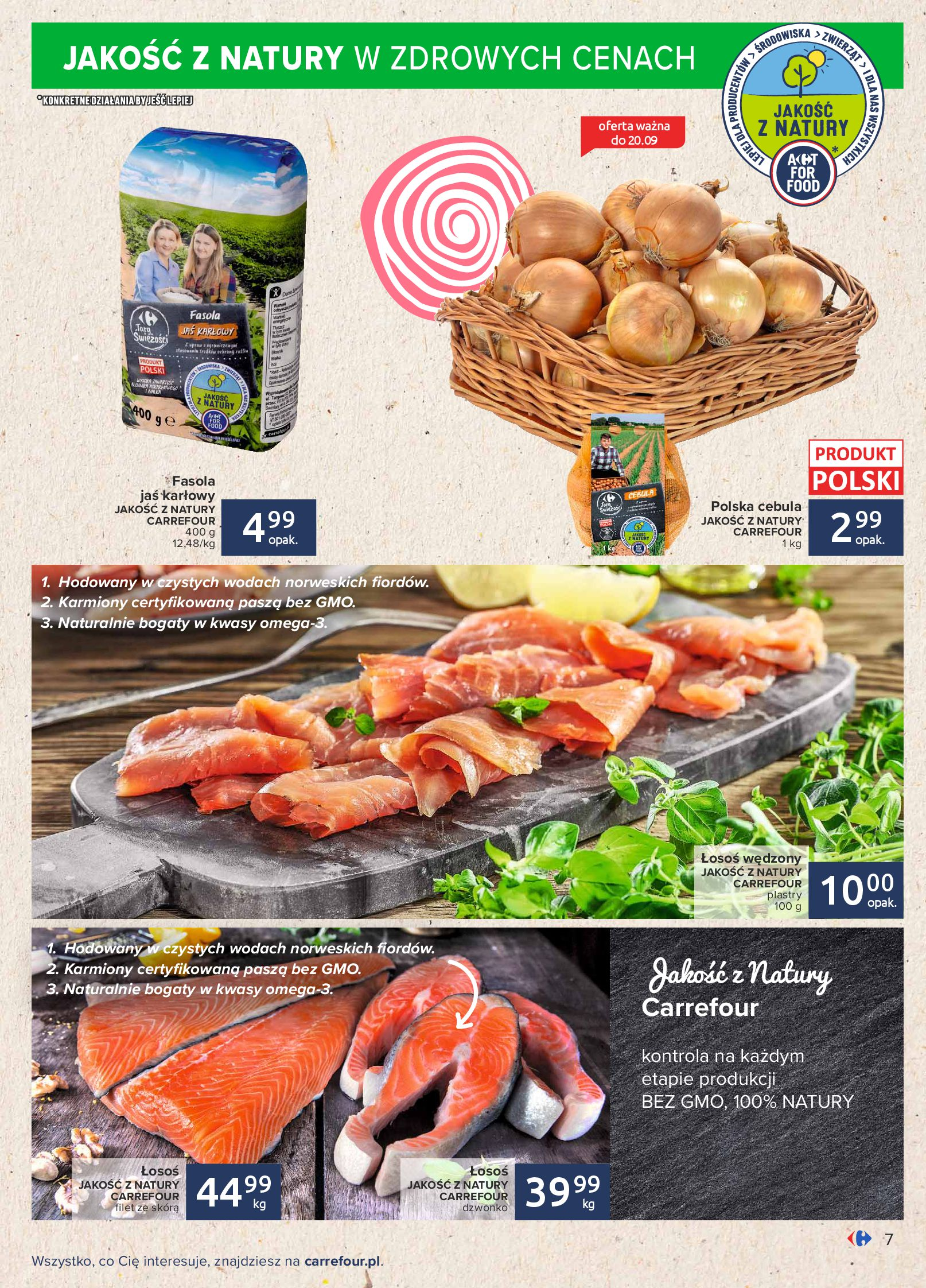 Gazetka Carrefour: Gazetka Carrefour - Możemy mądrze jeść! 2021-09-14 page-7