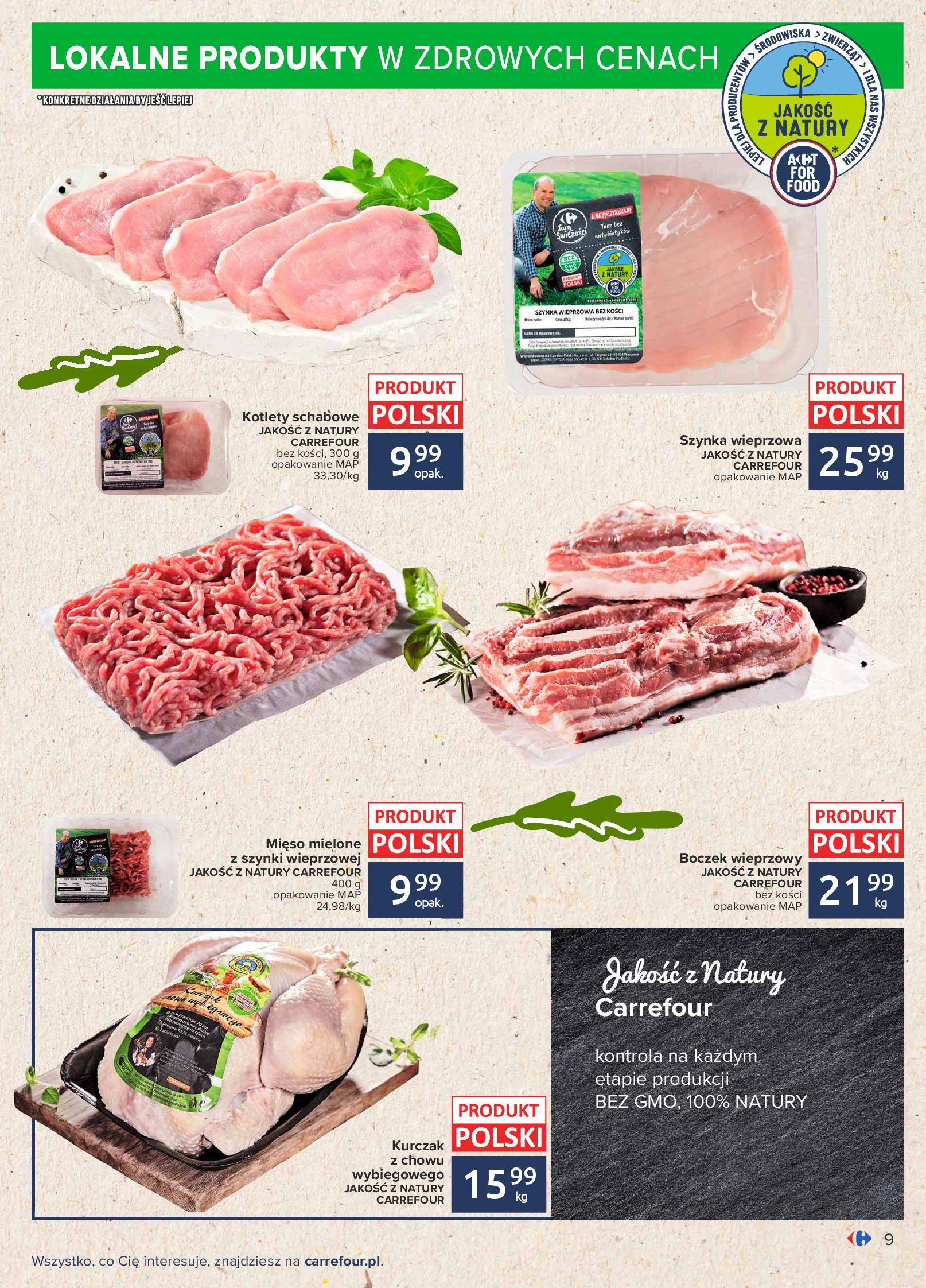 Gazetka Carrefour: Gazetka Carrefour - Możemy mądrze jeść! 2021-09-14 page-9