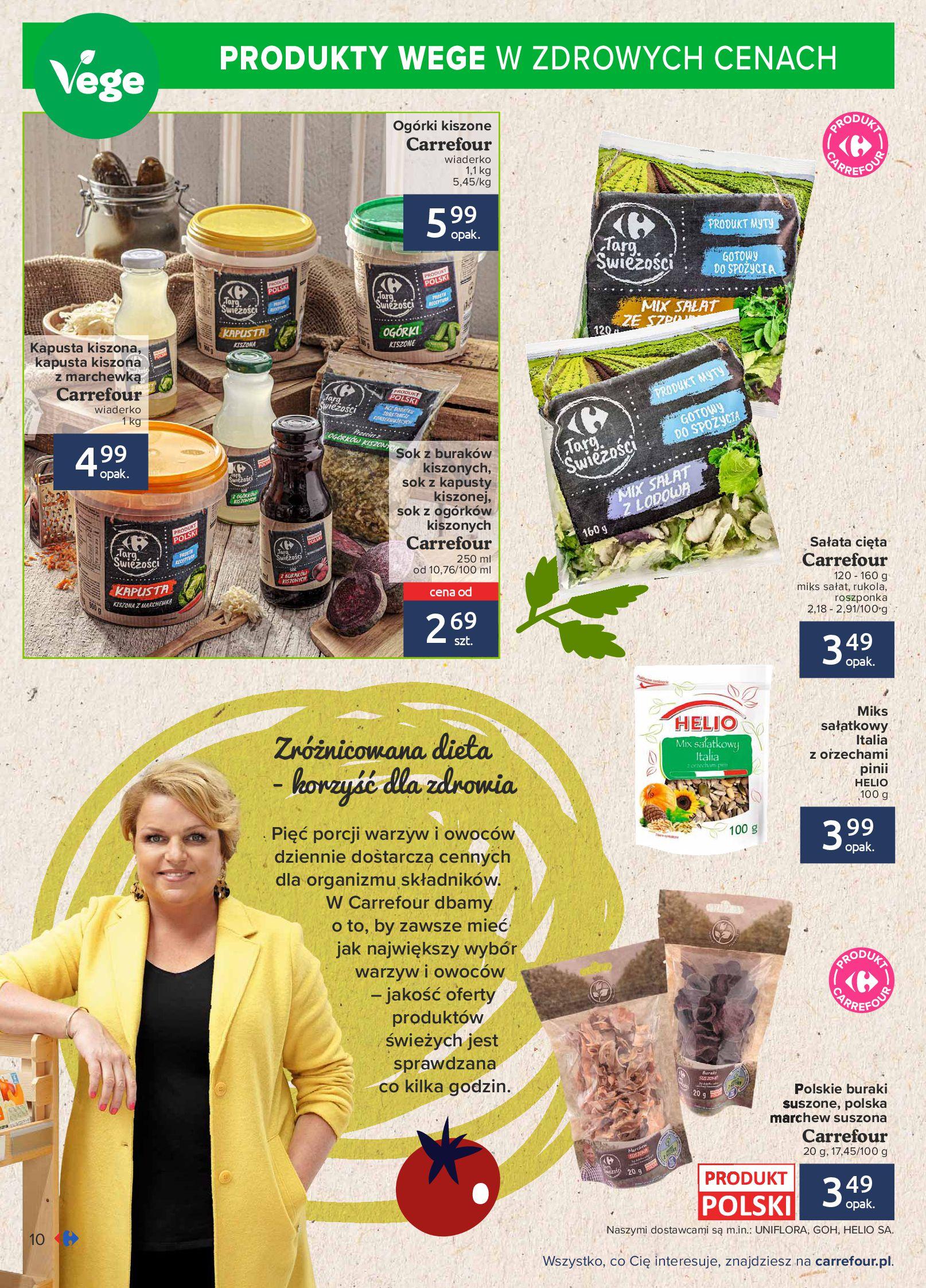 Gazetka Carrefour: Gazetka Carrefour - Możemy mądrze jeść! 2021-09-14 page-10