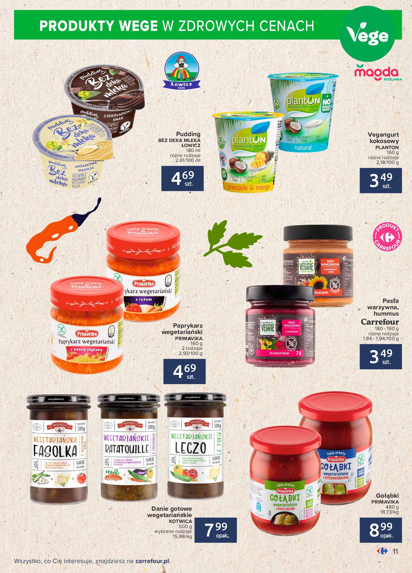 Gazetka Carrefour: Gazetka Carrefour - Możemy mądrze jeść! 2021-09-14 page-11