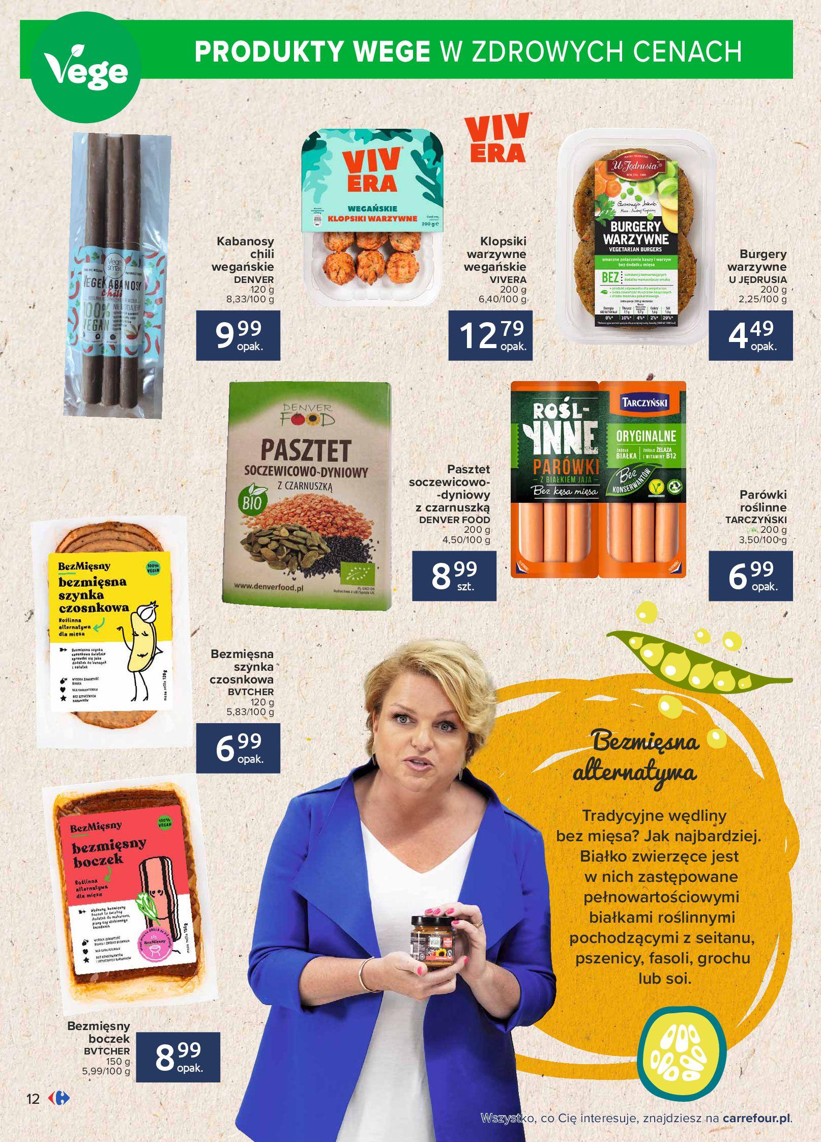 Gazetka Carrefour: Gazetka Carrefour - Możemy mądrze jeść! 2021-09-14 page-12