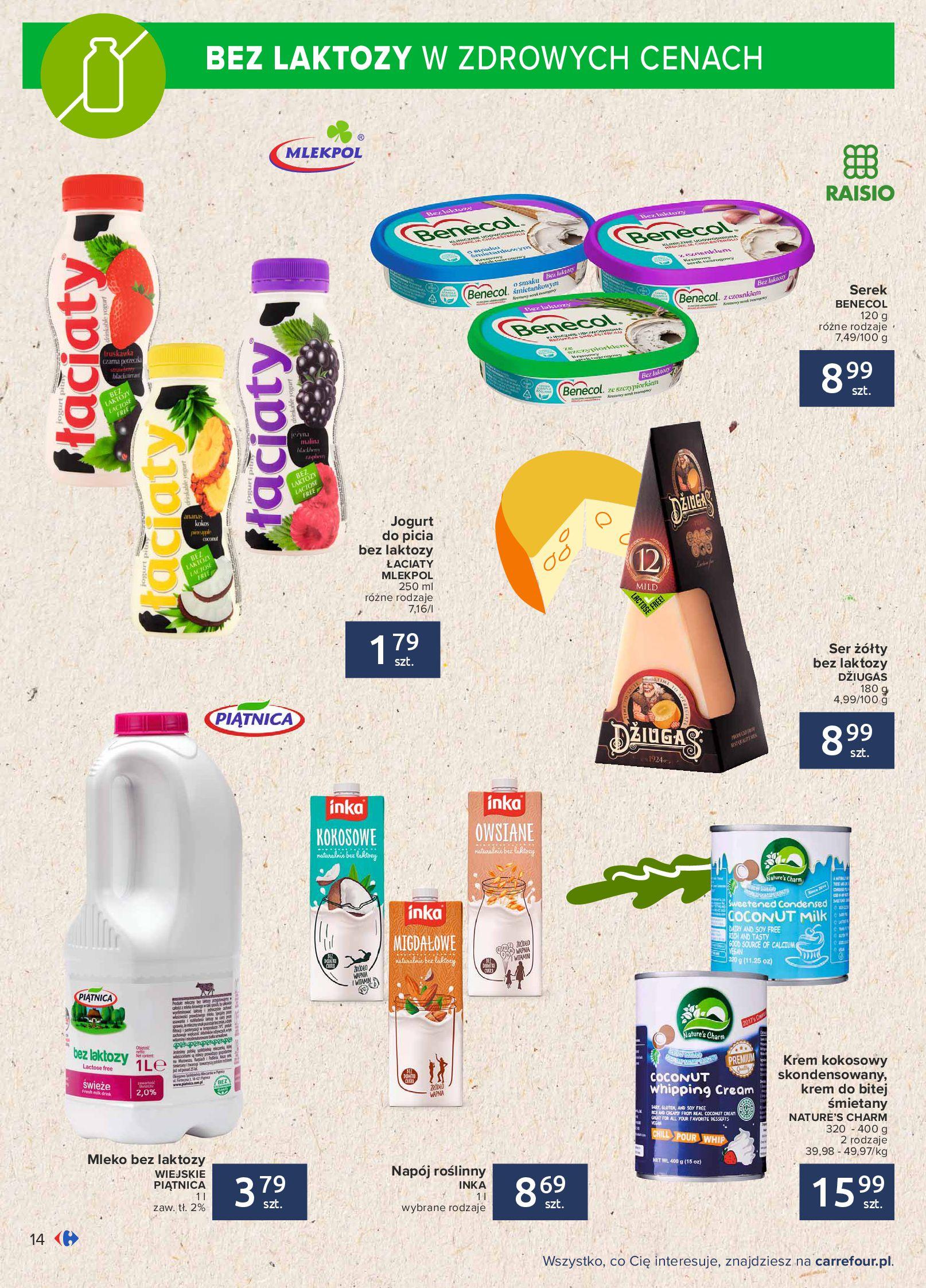 Gazetka Carrefour: Gazetka Carrefour - Możemy mądrze jeść! 2021-09-14 page-14