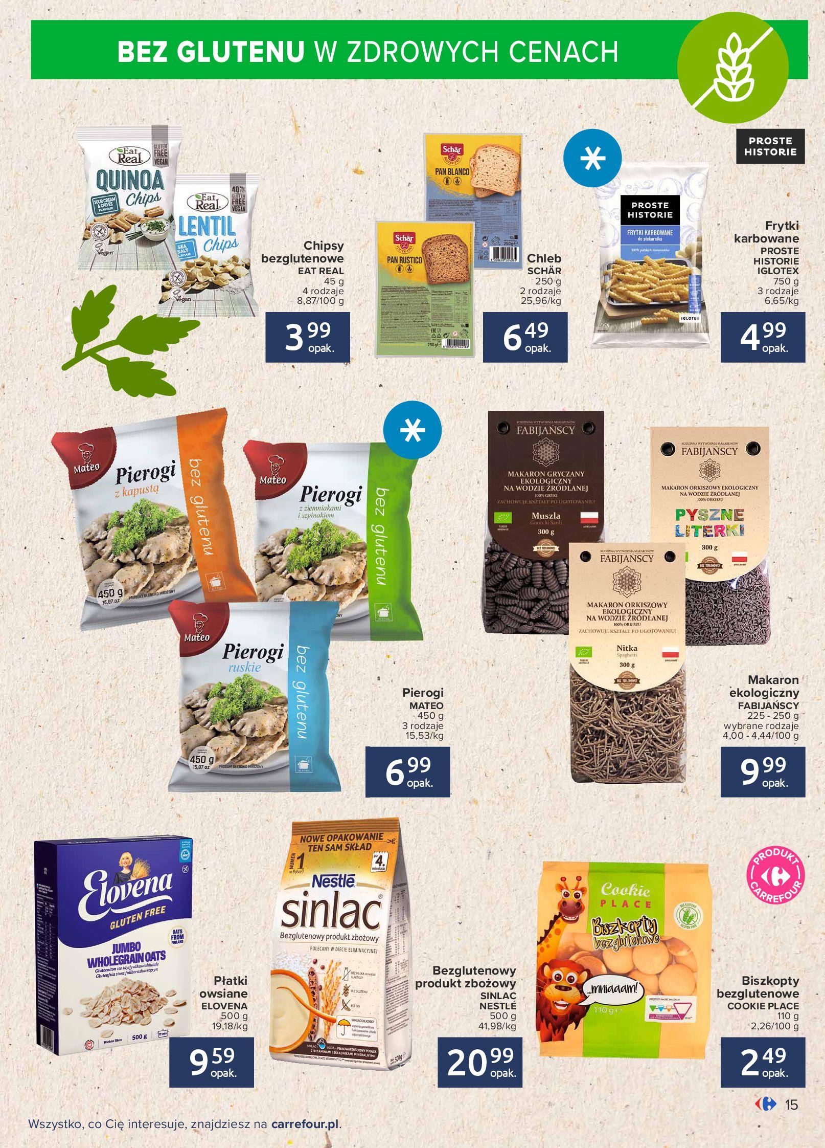 Gazetka Carrefour: Gazetka Carrefour - Możemy mądrze jeść! 2021-09-14 page-15