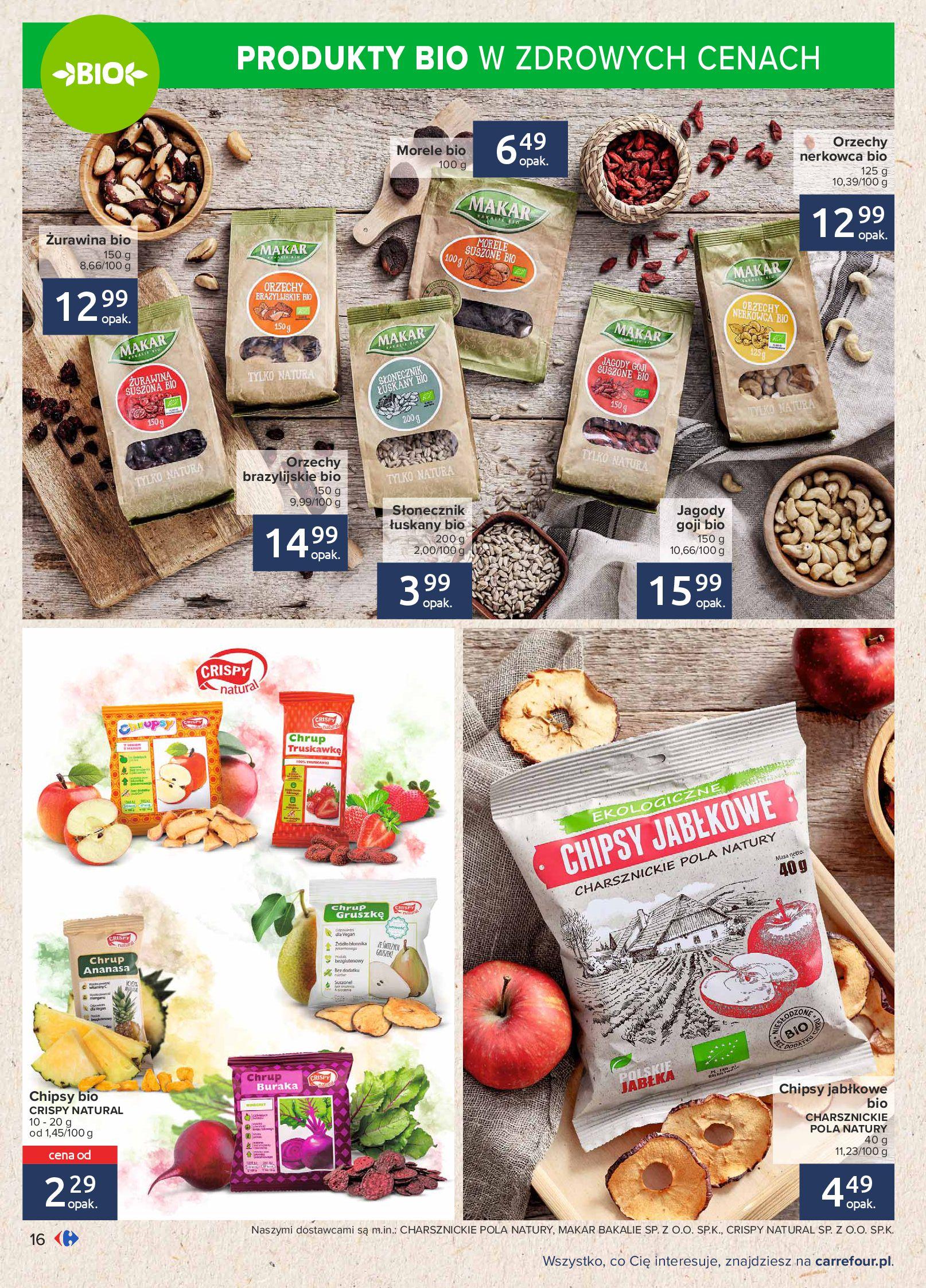 Gazetka Carrefour: Gazetka Carrefour - Możemy mądrze jeść! 2021-09-14 page-16