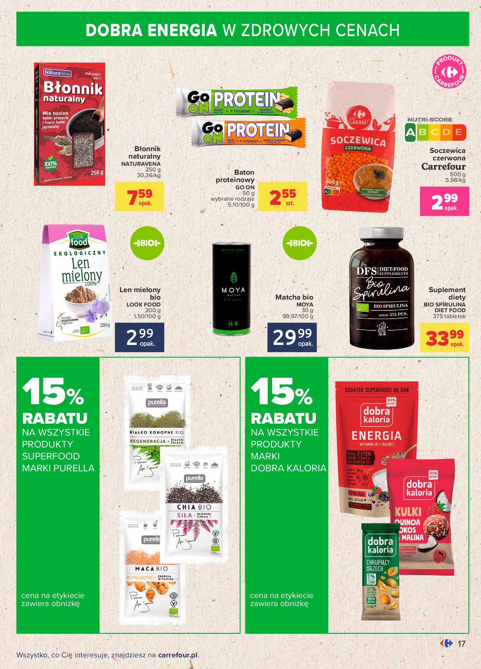 Gazetka Carrefour: Gazetka Carrefour - Możemy mądrze jeść! 2021-09-14 page-17