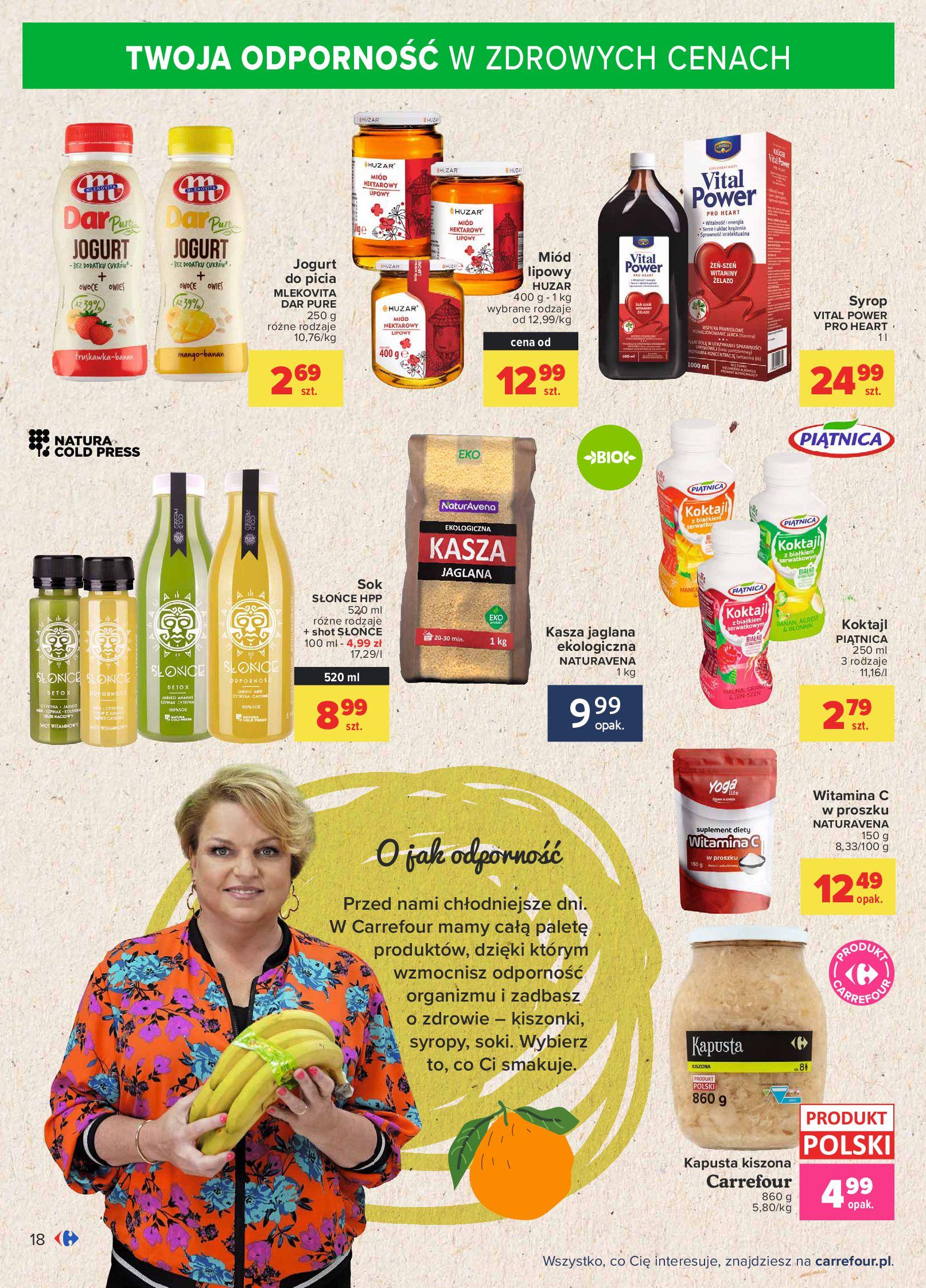 Gazetka Carrefour: Gazetka Carrefour - Możemy mądrze jeść! 2021-09-14 page-18