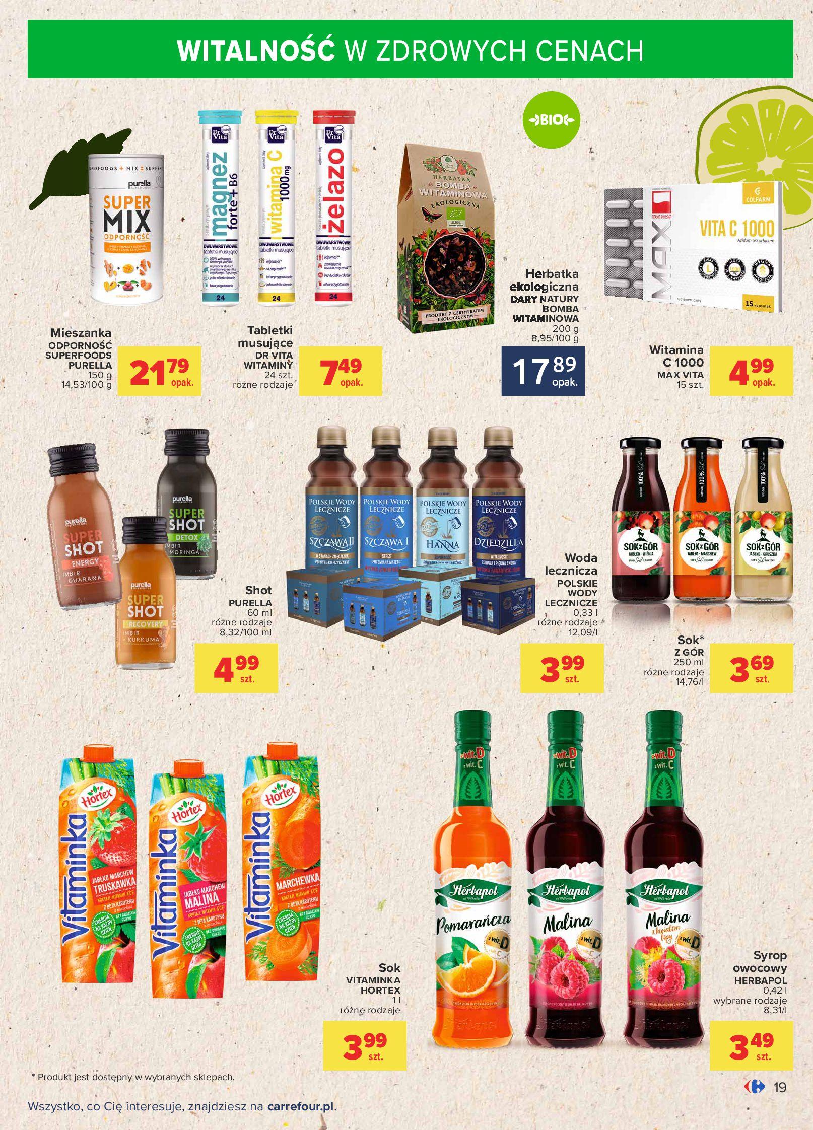 Gazetka Carrefour: Gazetka Carrefour - Możemy mądrze jeść! 2021-09-14 page-19