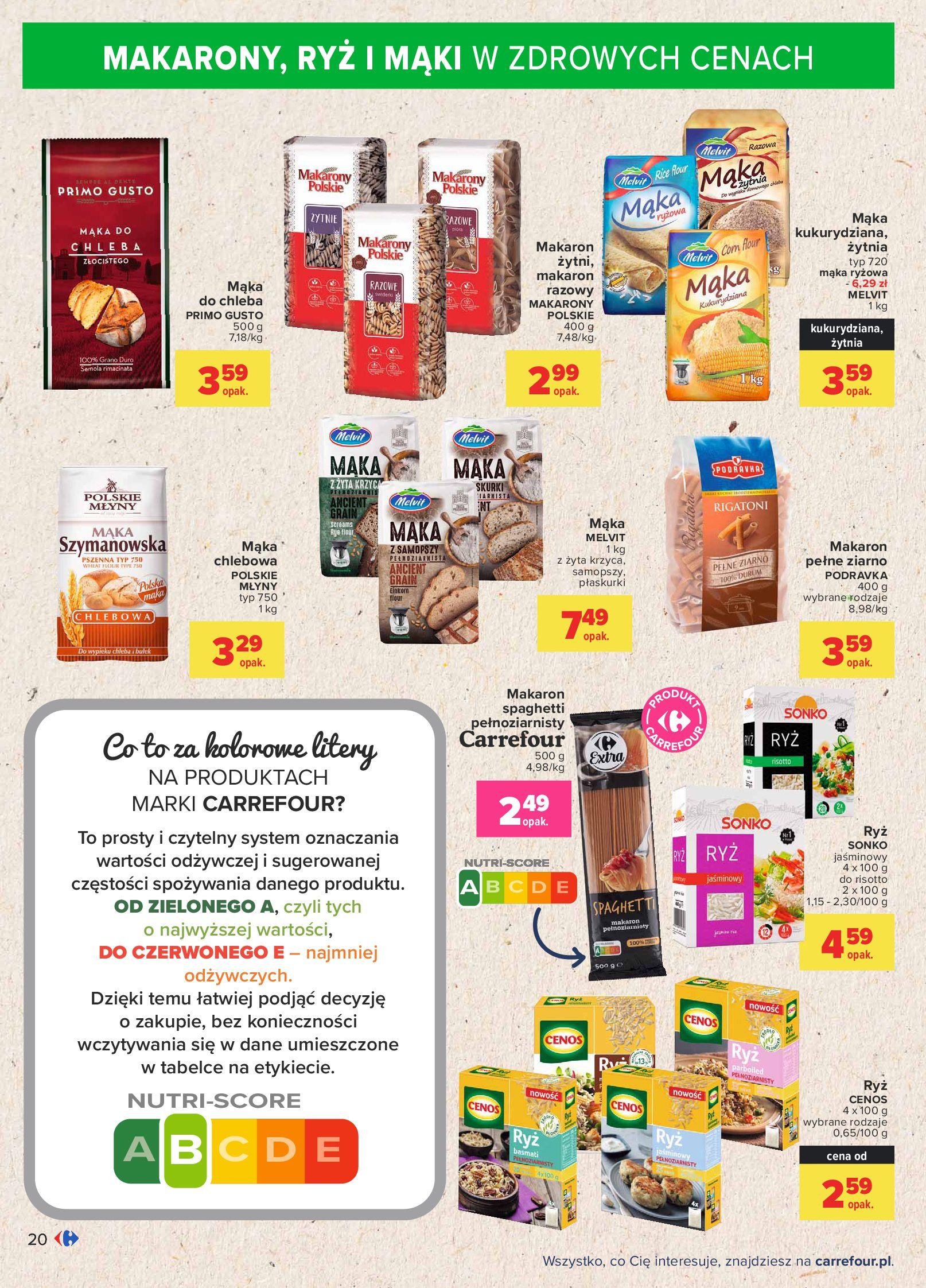 Gazetka Carrefour: Gazetka Carrefour - Możemy mądrze jeść! 2021-09-14 page-20