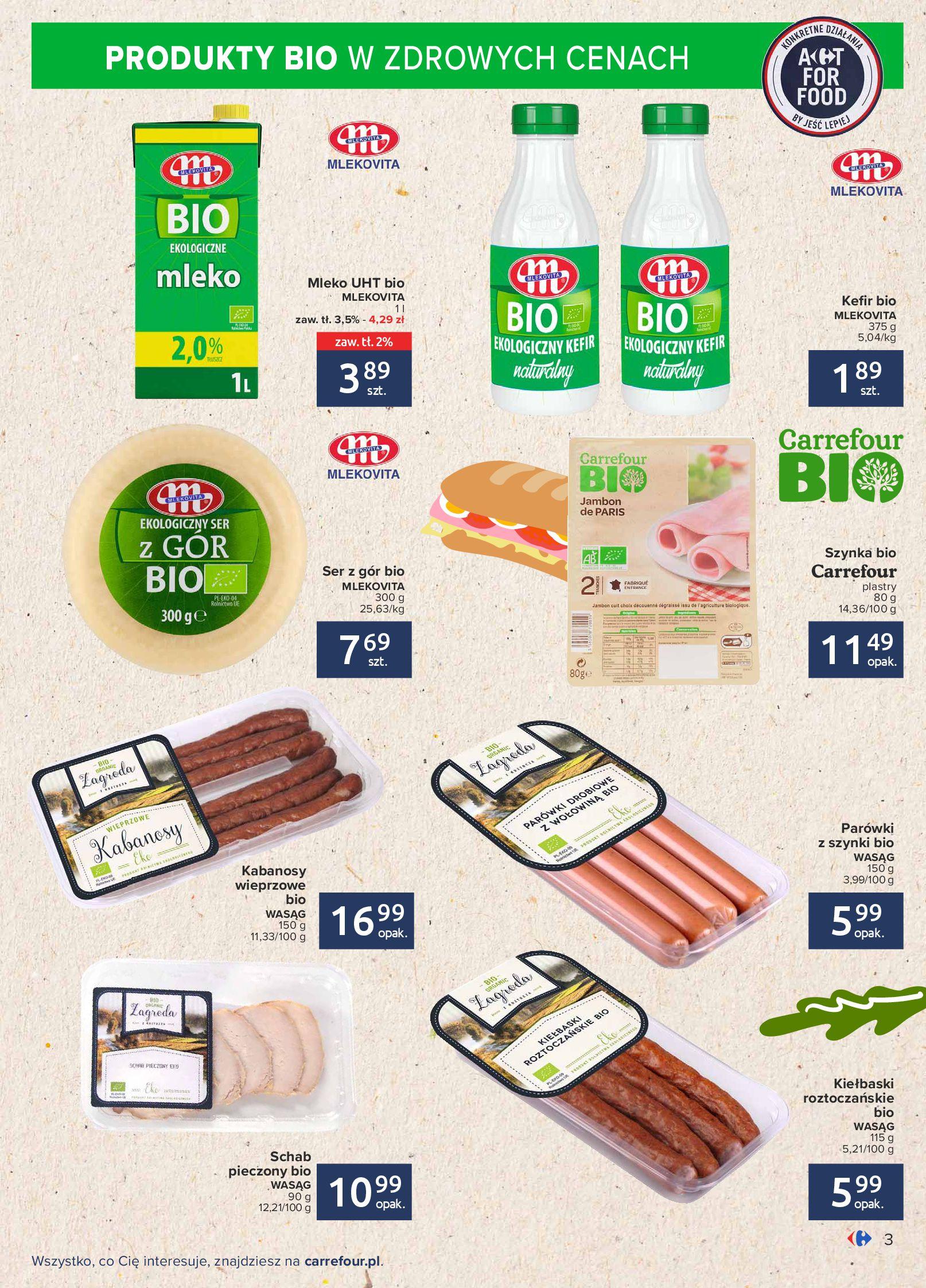 Gazetka Carrefour: Gazetka Carrefour - Możemy mądrze jeść! 2021-09-14 page-3
