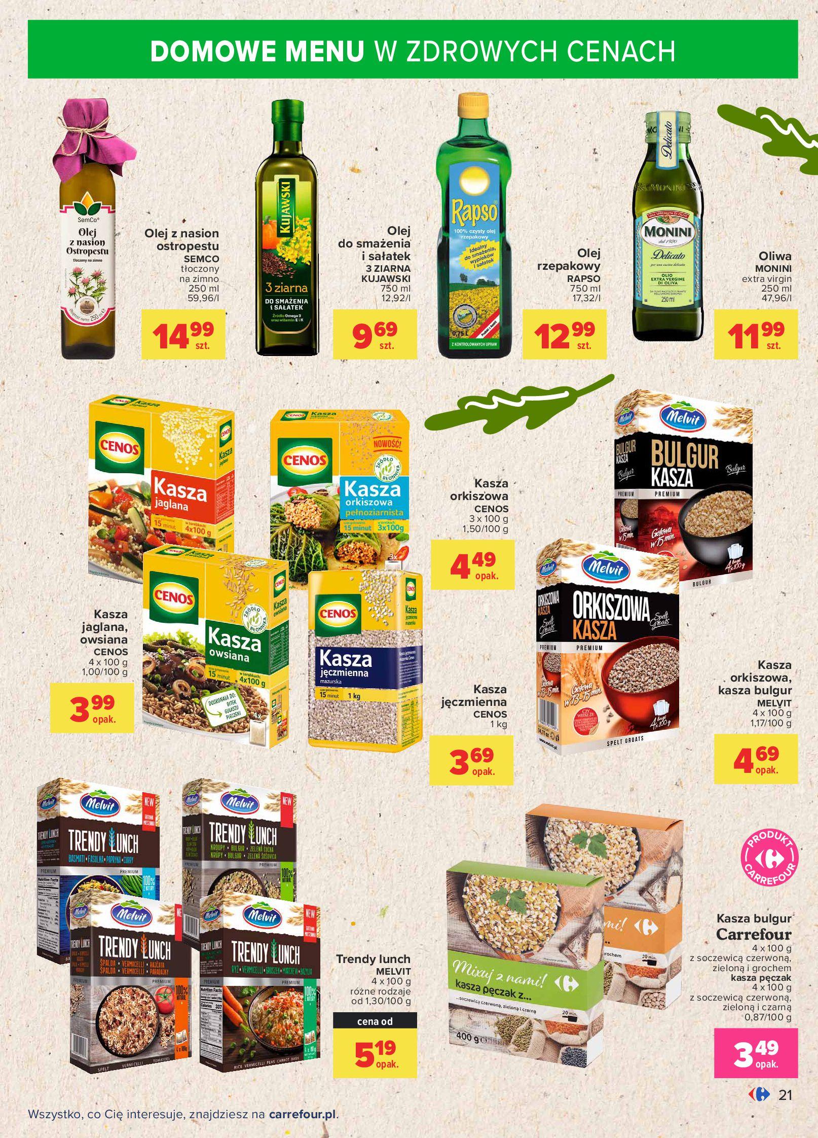 Gazetka Carrefour: Gazetka Carrefour - Możemy mądrze jeść! 2021-09-14 page-21