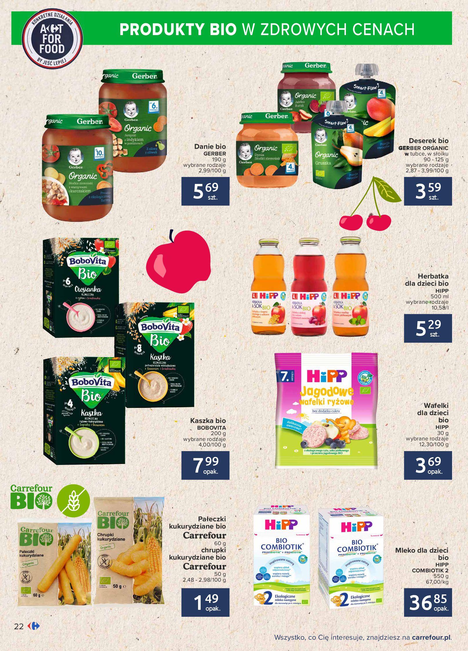 Gazetka Carrefour: Gazetka Carrefour - Możemy mądrze jeść! 2021-09-14 page-22