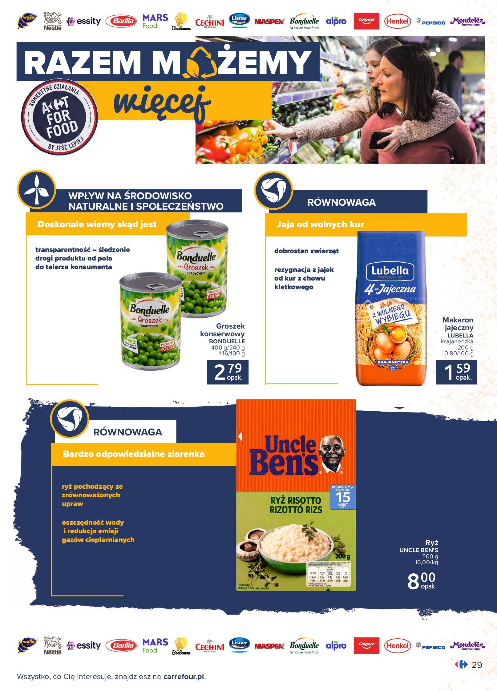 Gazetka Carrefour: Gazetka Carrefour - Możemy mądrze jeść! 2021-09-14 page-29