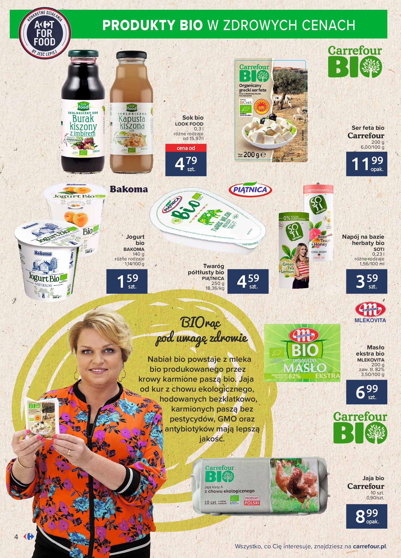 Gazetka Carrefour: Gazetka Carrefour - Możemy mądrze jeść! 2021-09-14 page-4