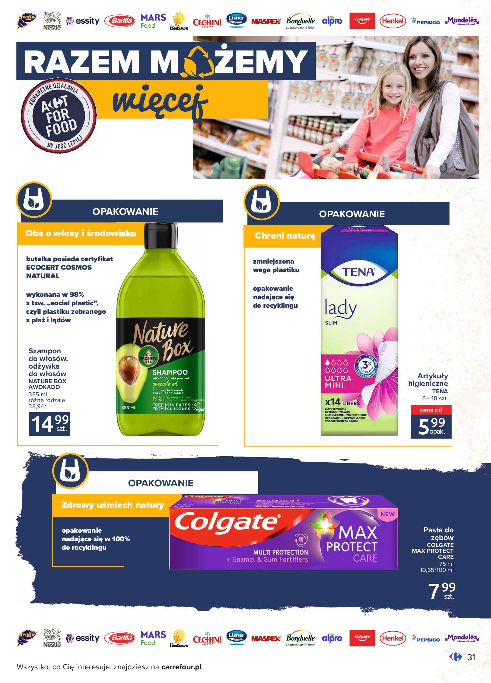 Gazetka Carrefour: Gazetka Carrefour - Możemy mądrze jeść! 2021-09-14 page-31