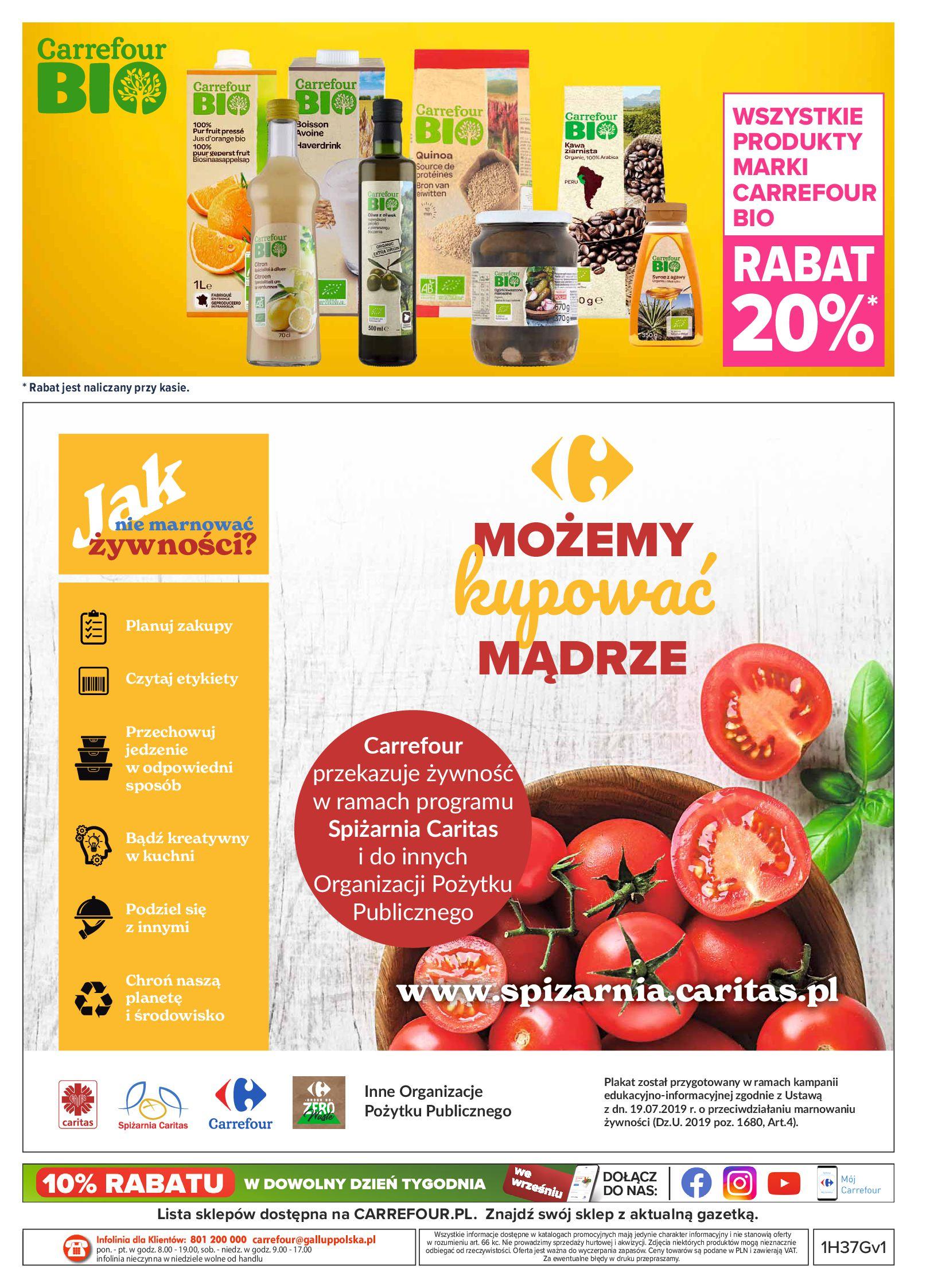 Gazetka Carrefour: Gazetka Carrefour - Możemy mądrze jeść! 2021-09-14 page-32