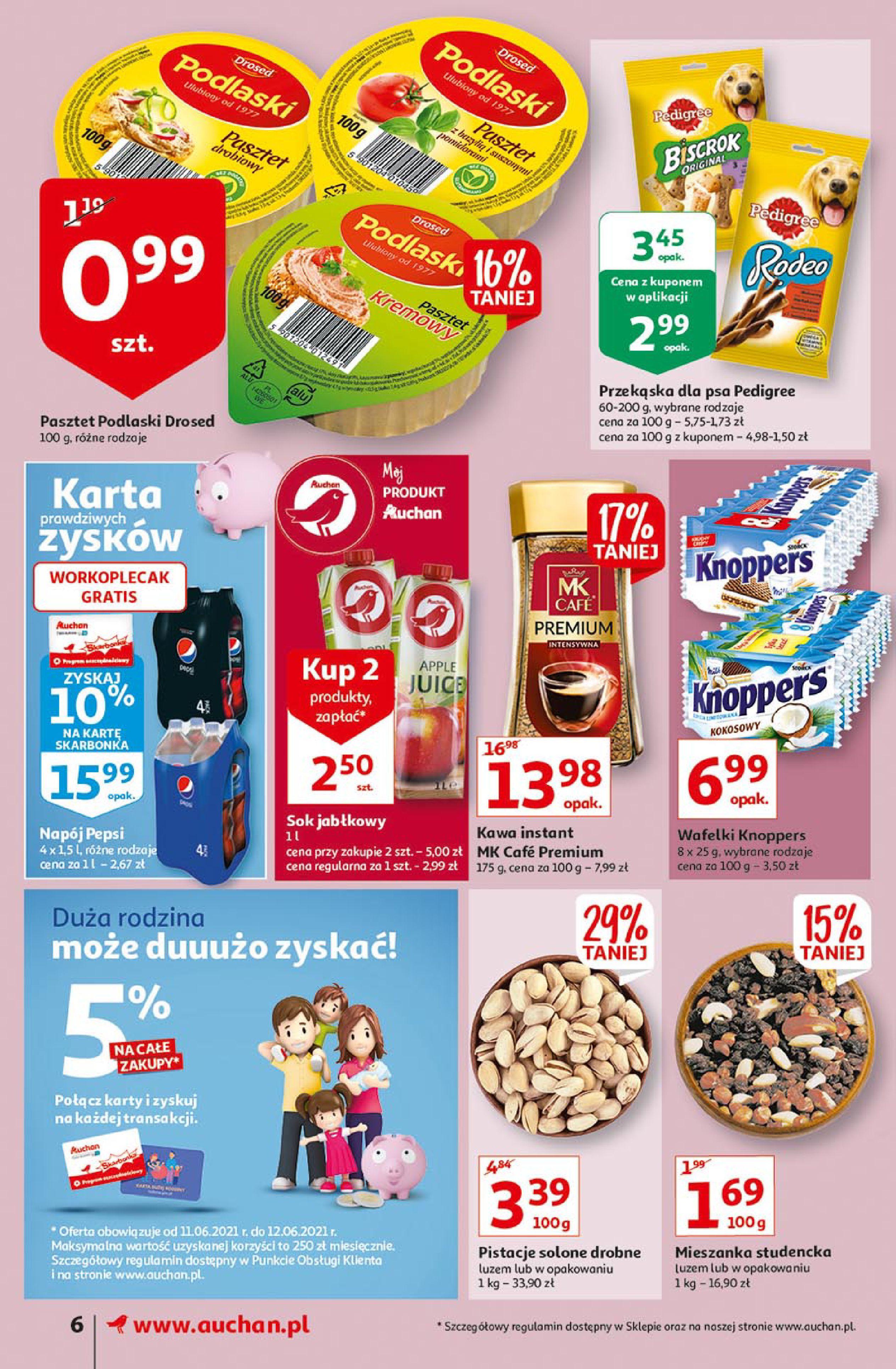 Gazetka Auchan: Gazetka Auchan Supermarket 2021-06-10 page-6