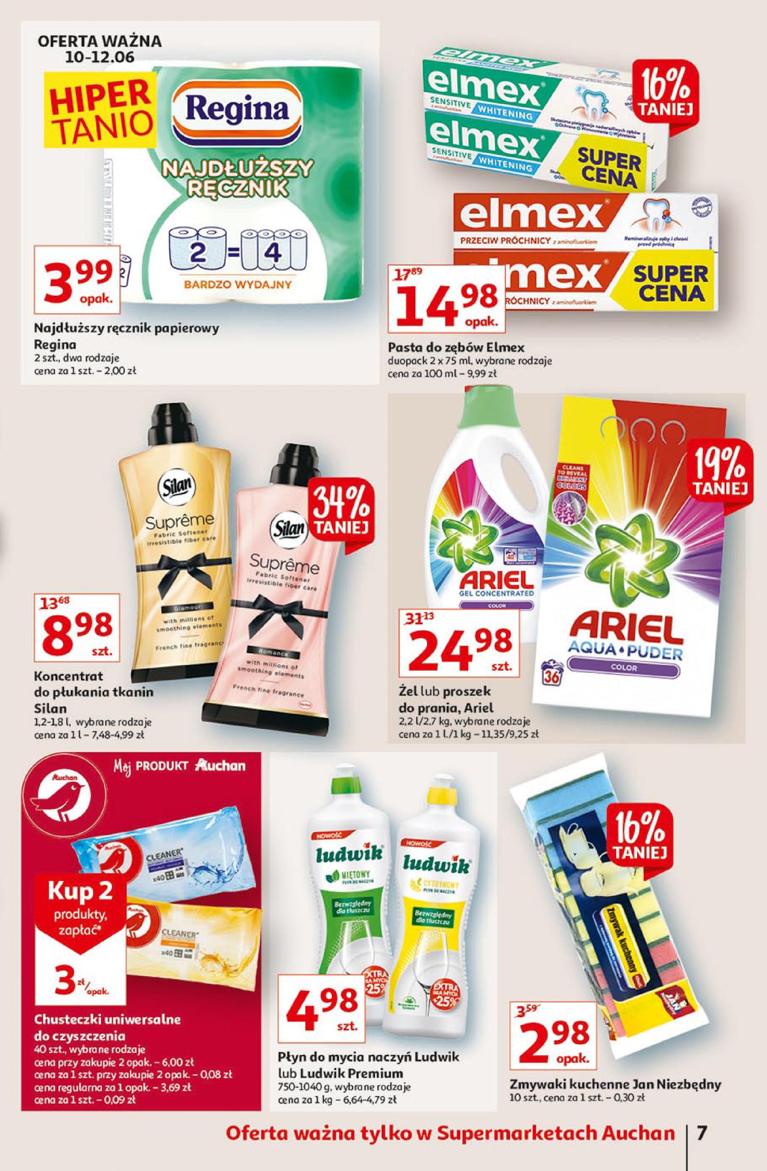 Gazetka Auchan: Gazetka Auchan Supermarket 2021-06-10 page-7