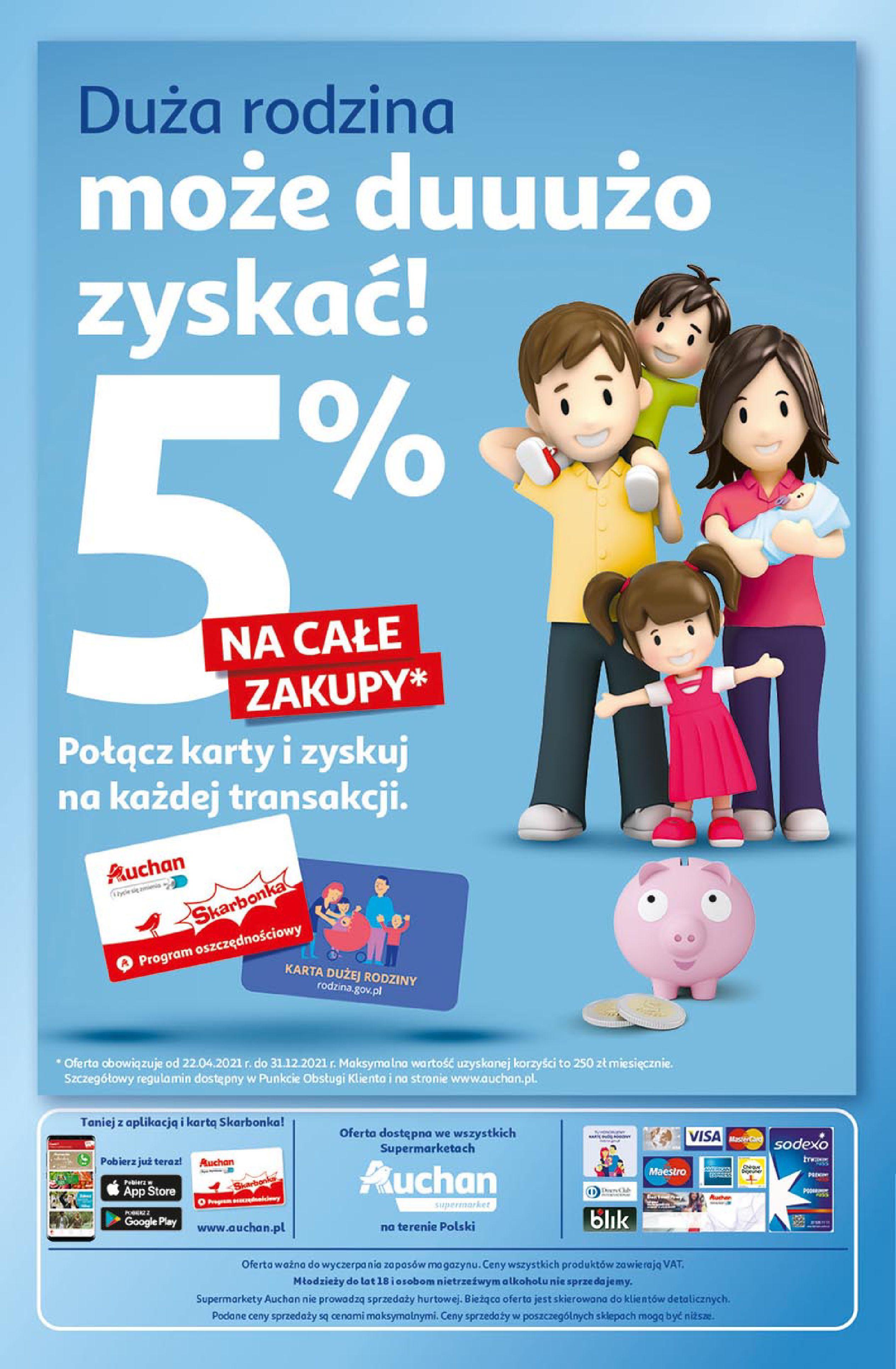 Gazetka Auchan: Gazetka Auchan Supermarket 2021-06-10 page-8